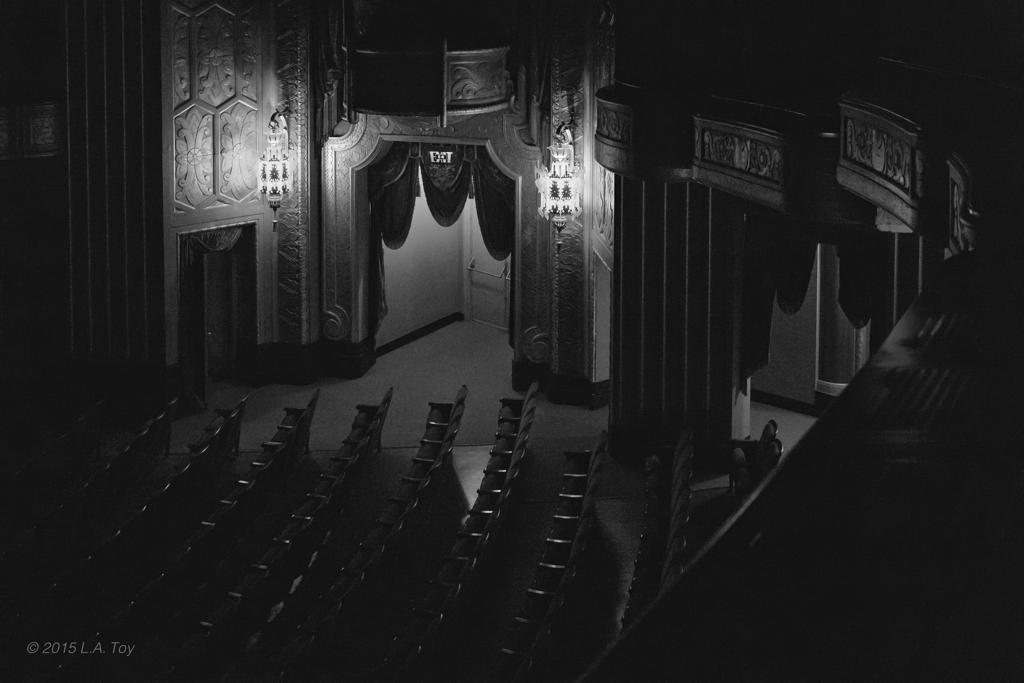 Exit 14, Warner Theatre by L.A. Toy