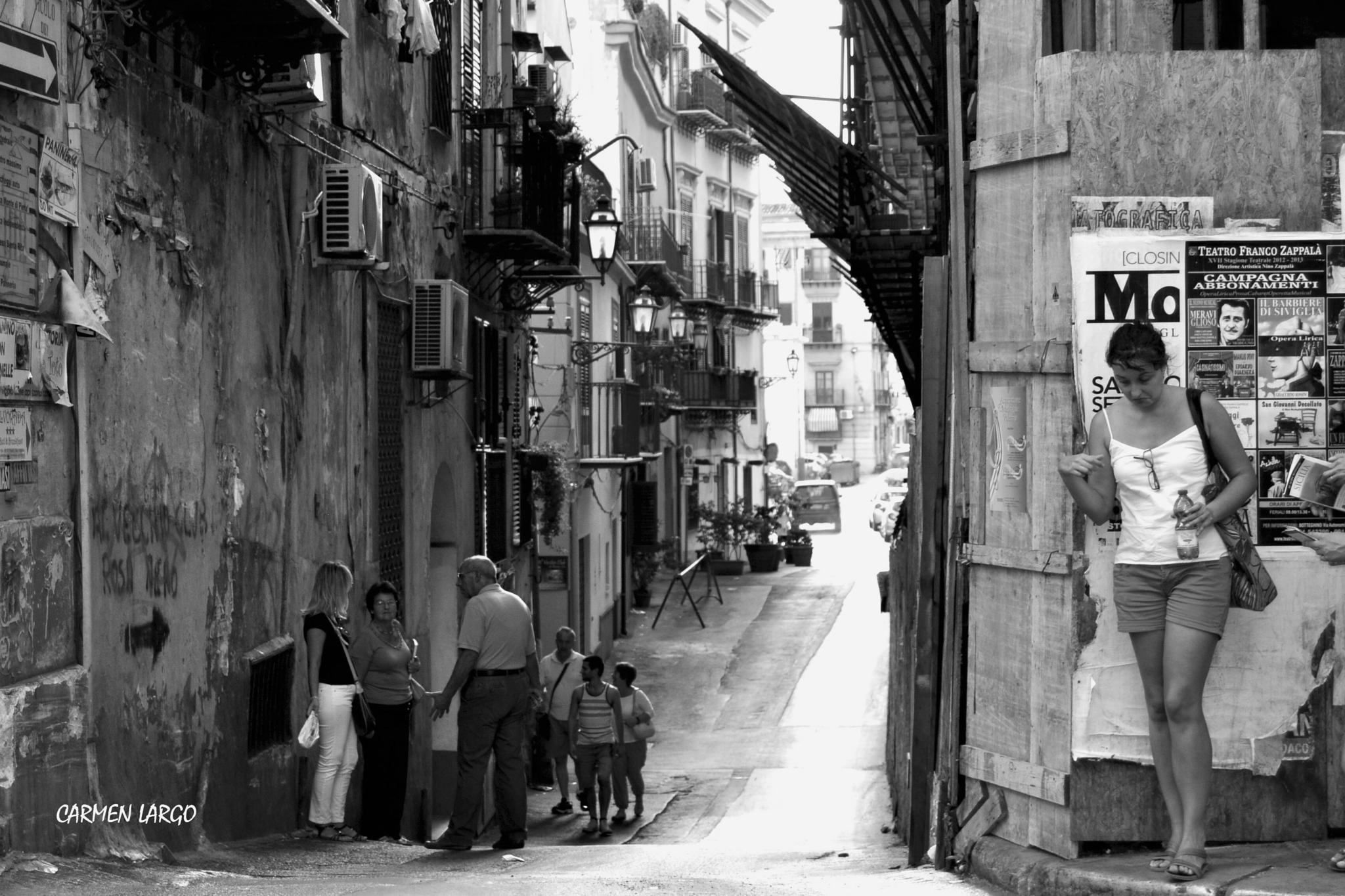 Turists in Palermo by carmenlargo13
