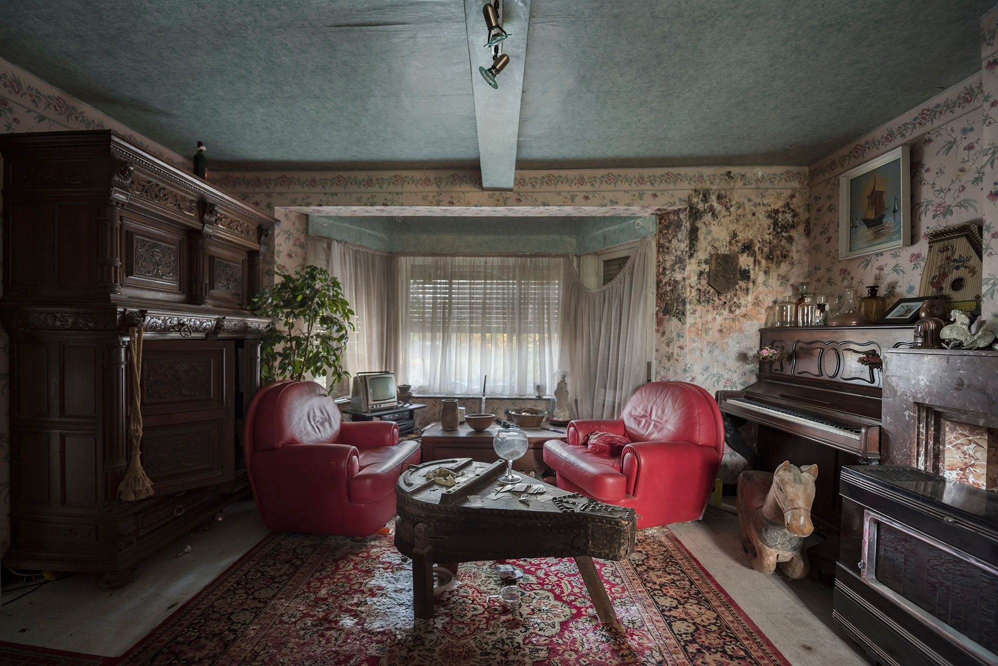 That rug really tied the room together by Matthew Hampshire