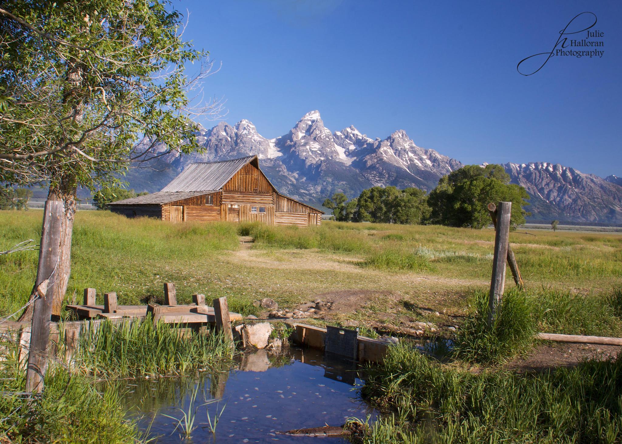 Mormon Row Barn by JulieHalloran