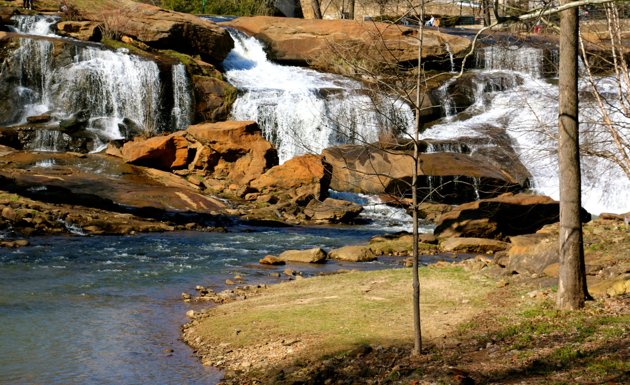 Falls Park on the Reedy by sharonleekeim