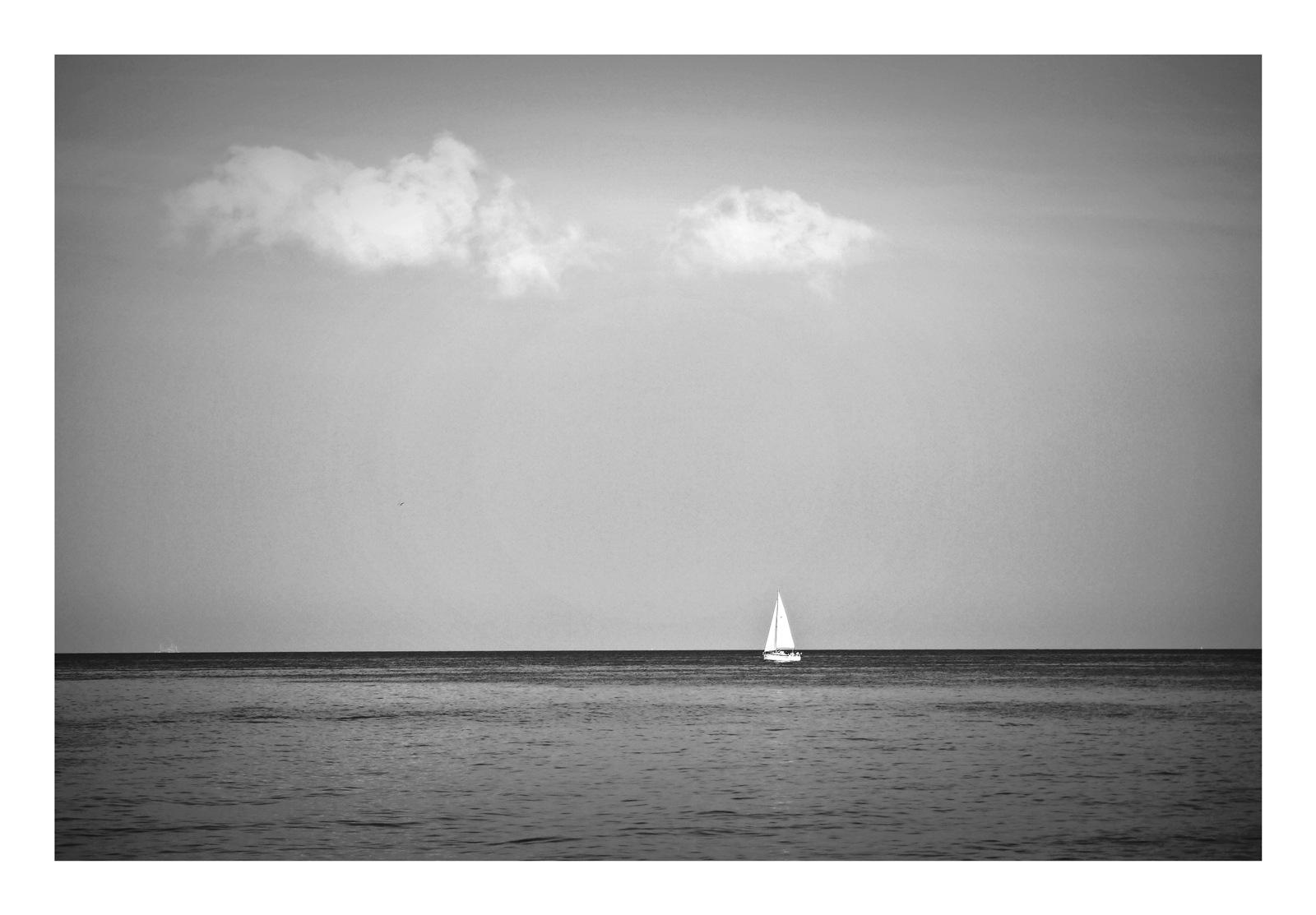 sailing alone .. 2 by ewa_no