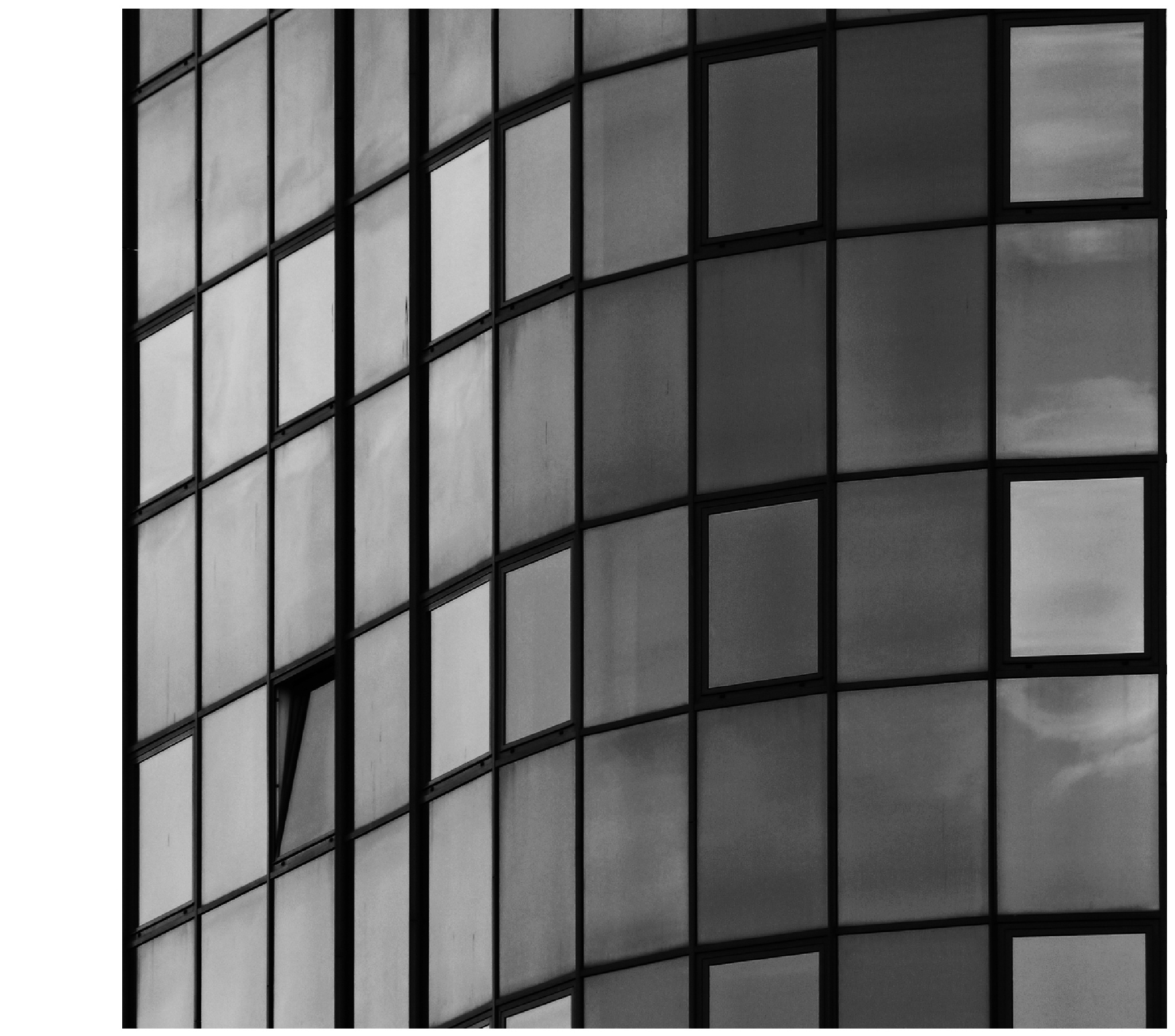windows 2 .. in black & white by ewa_no