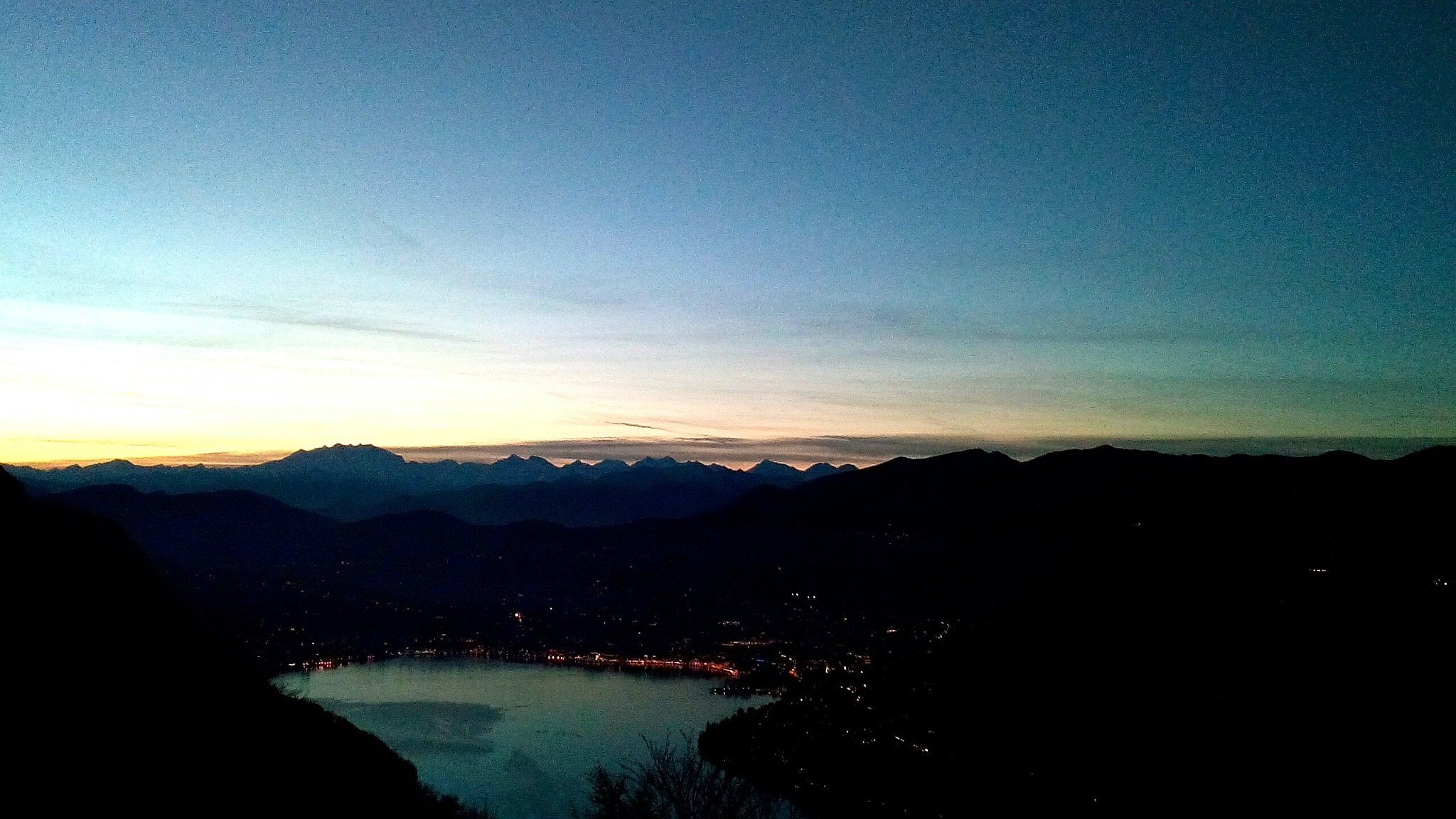 Lugano Lake by Paolo Pasquali