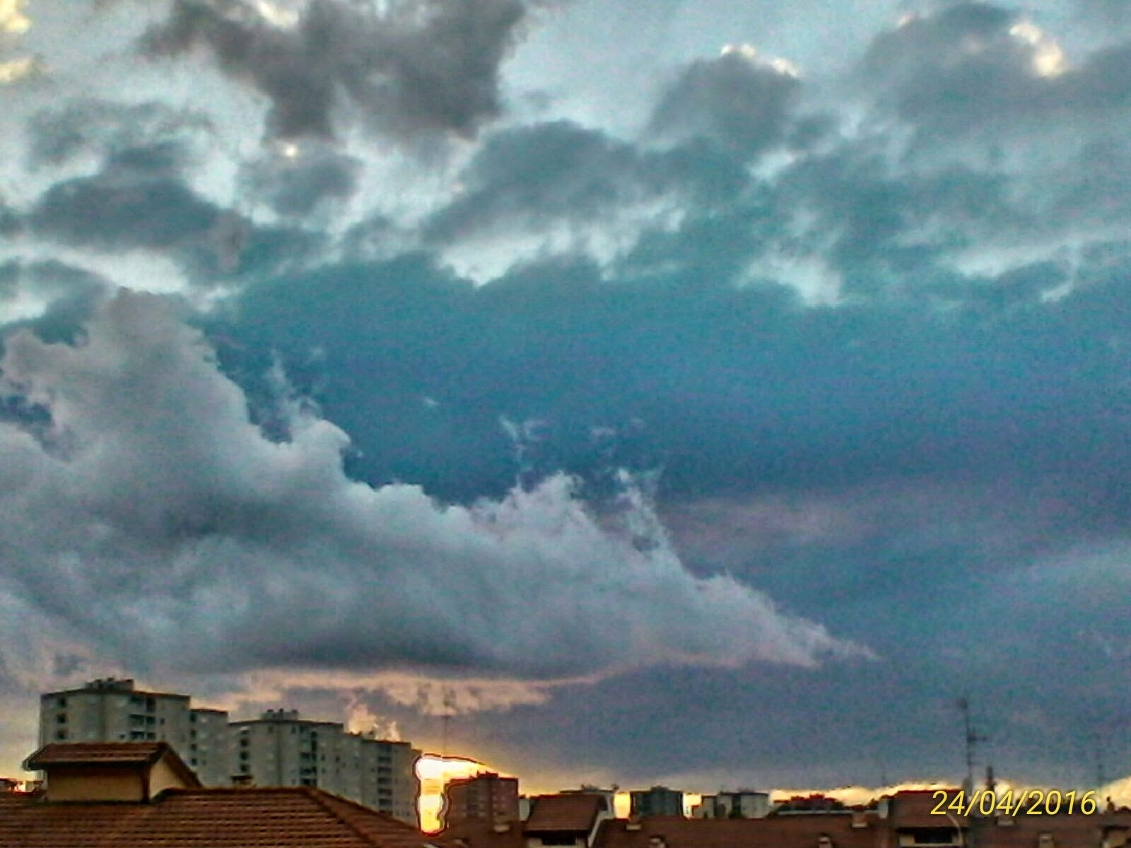 Bad weather clouds by Paolo Pasquali