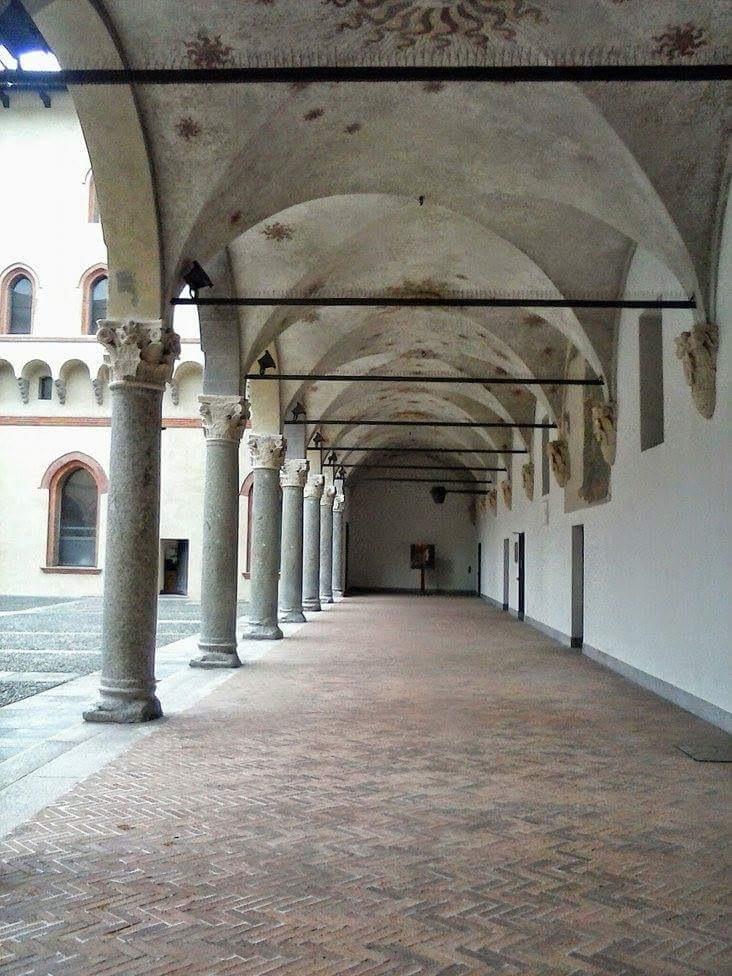Castello Sforzesco.Cortile della Rocchetta.One of the most amazing places of the city. by Paolo Pasquali