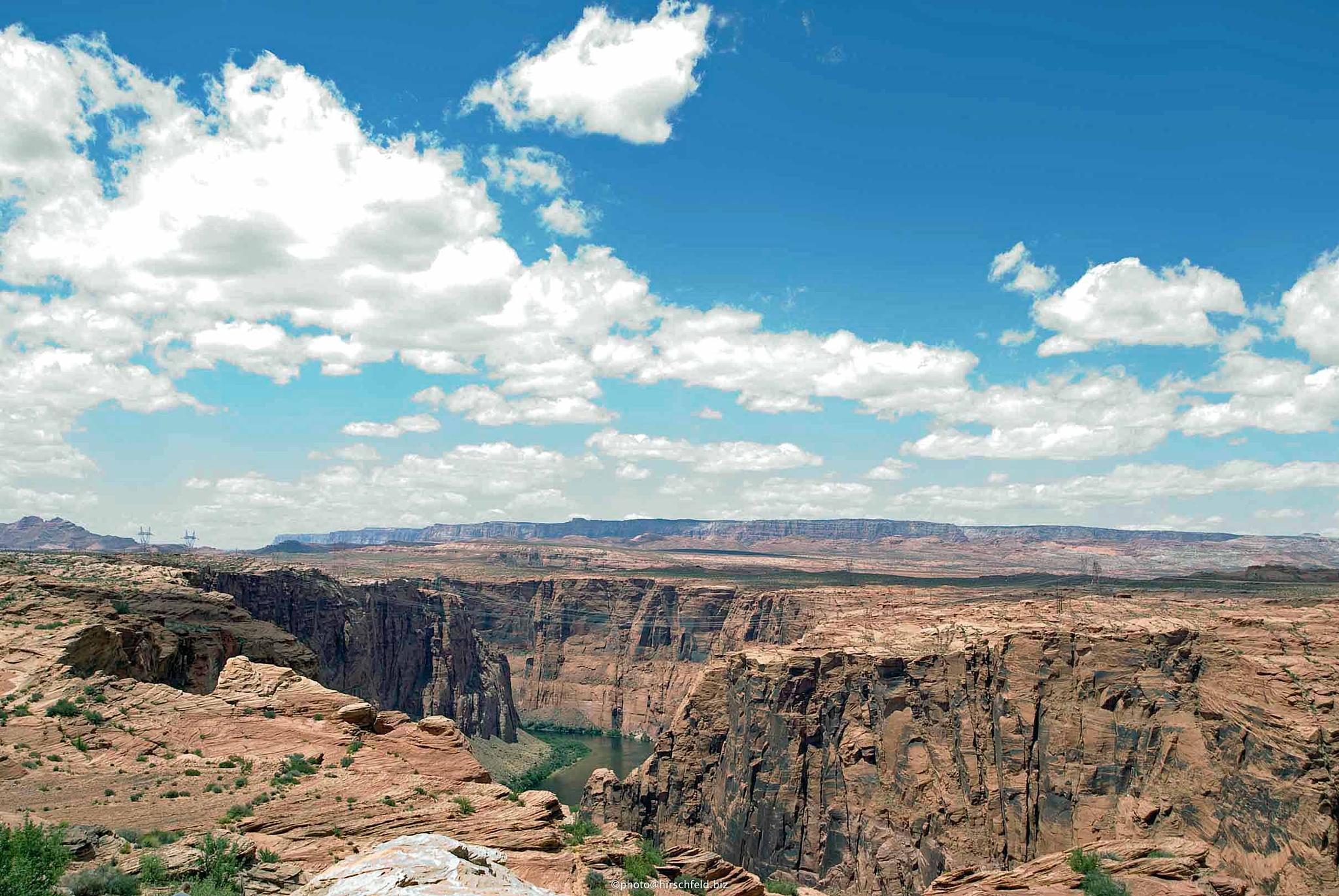 Coloradoriver, Arizona USA by edmund hirschfeld