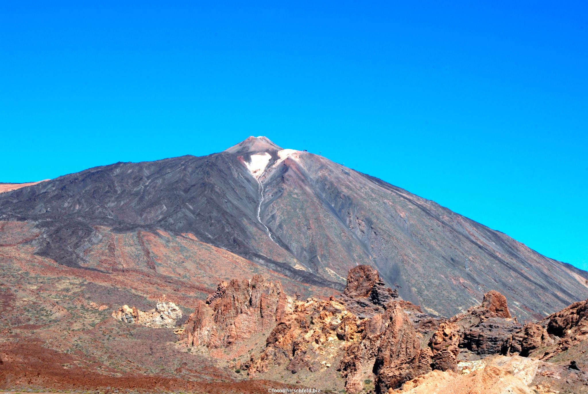 Teide, Santa Cruz de Tenerife, Spain by edmund hirschfeld