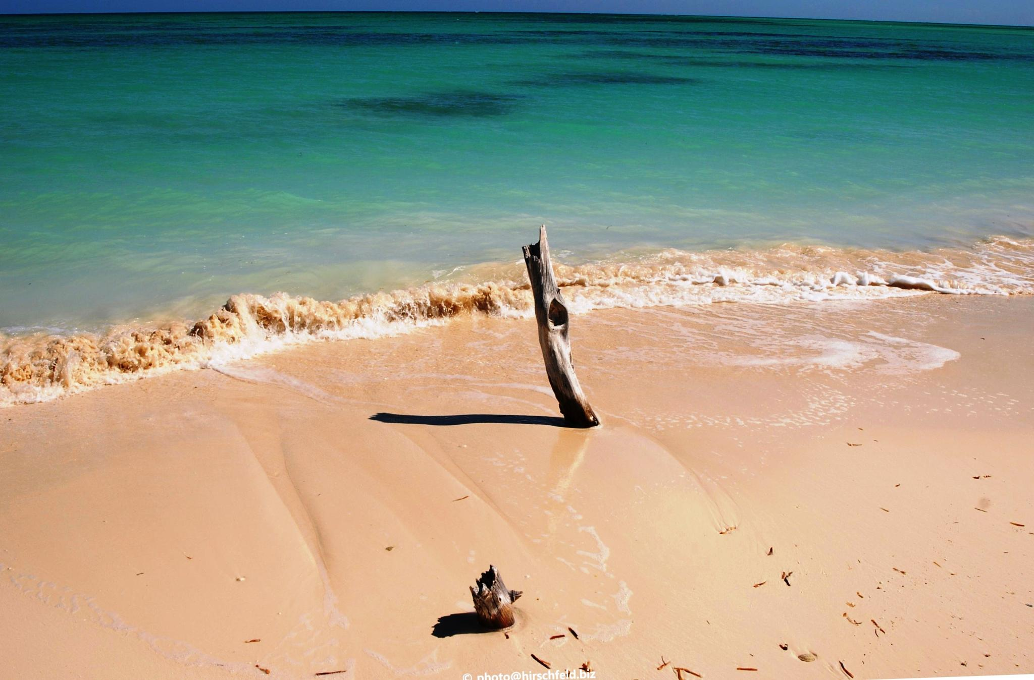 On the beach in Cuba by edmund hirschfeld