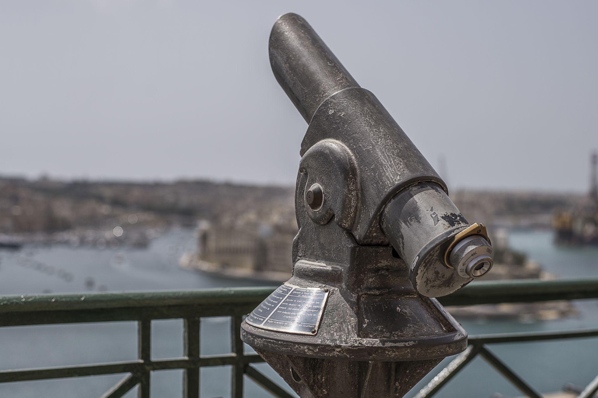 Binoculars by David Gilson