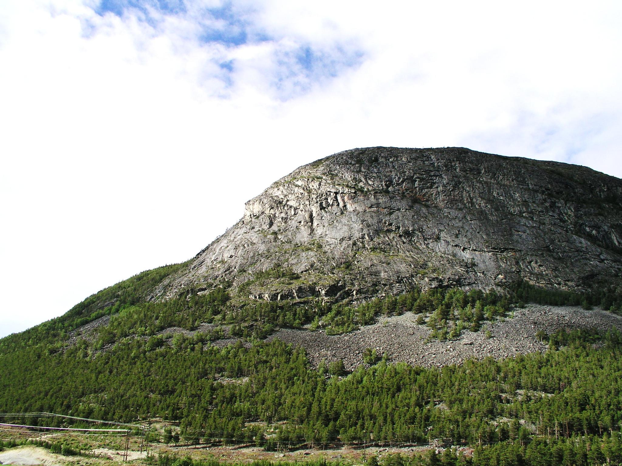 Norway mountain by Per Göthe