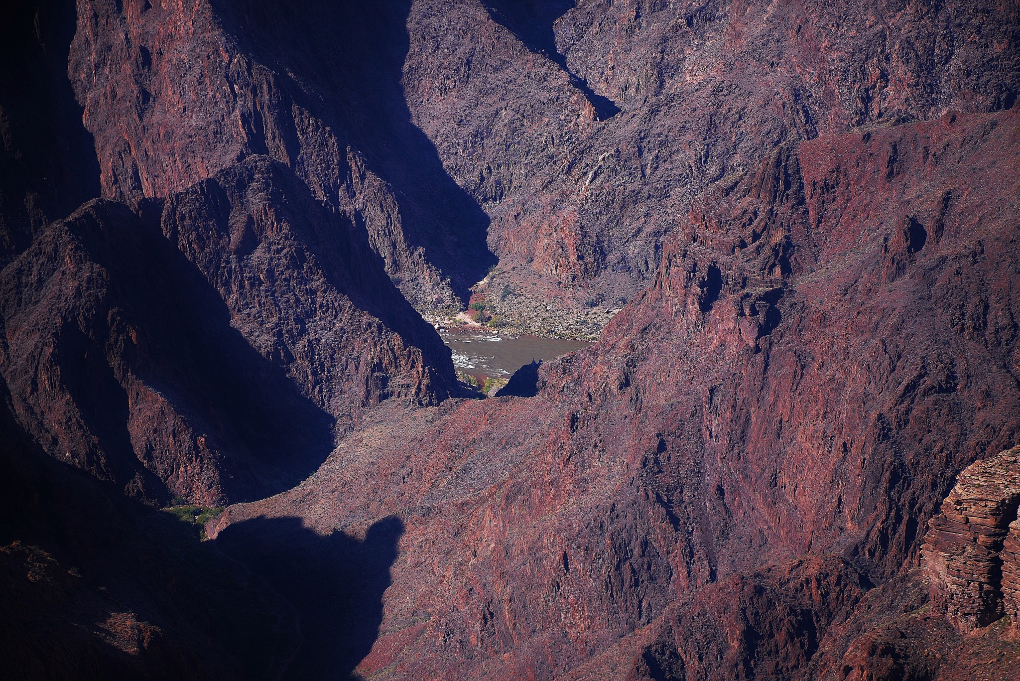 Deep down in the Grand Canyon by Per Göthe