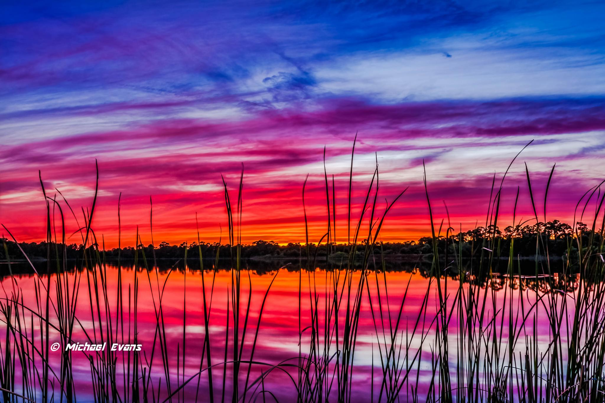 """""""Lake Sunset in Florida"""" by redstag"""
