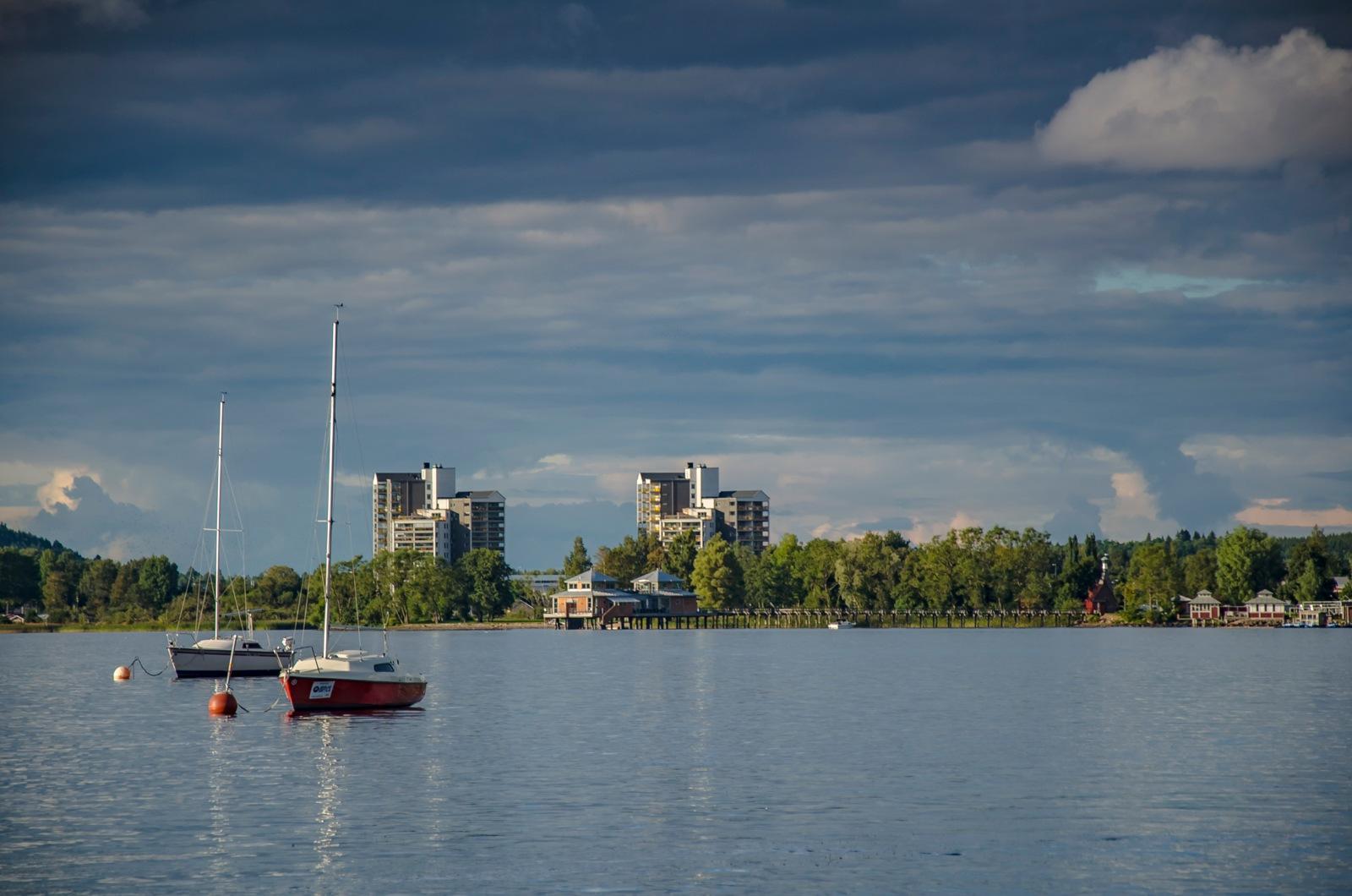 By the lake Åsunden, Ulricehamn city by ullalena.wistberg