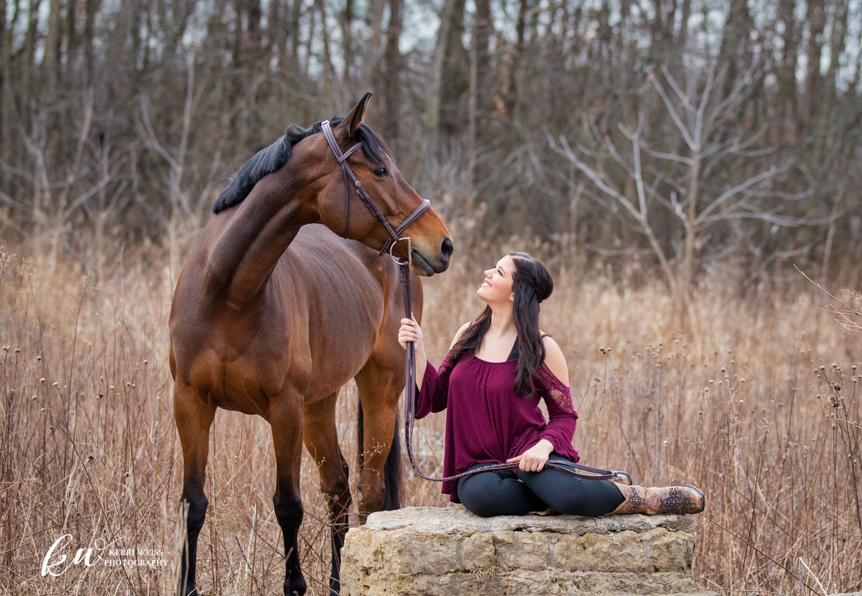 My best friend. by Kerri Weiss