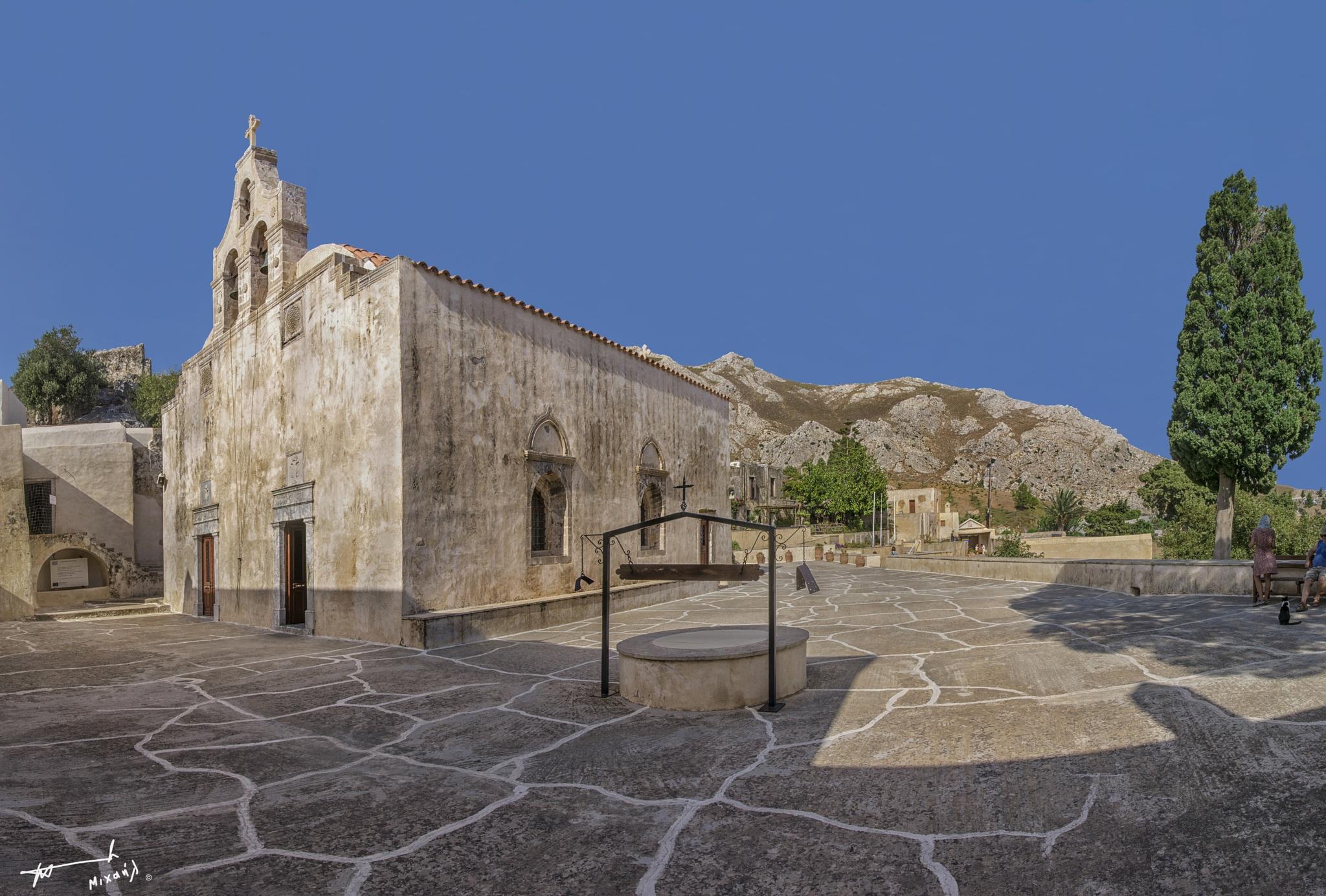The Preveli Monastery by Michail