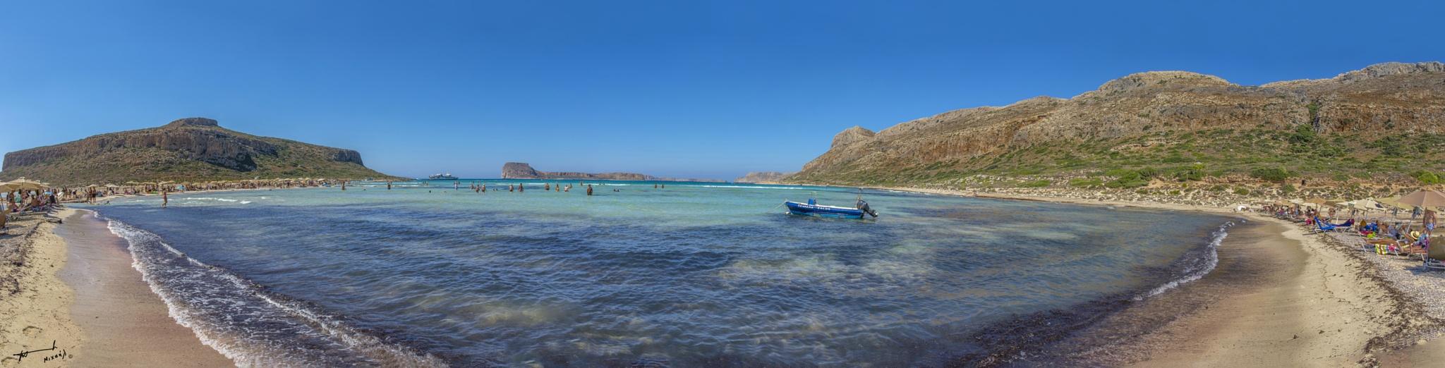 Balos beach !! by Michail