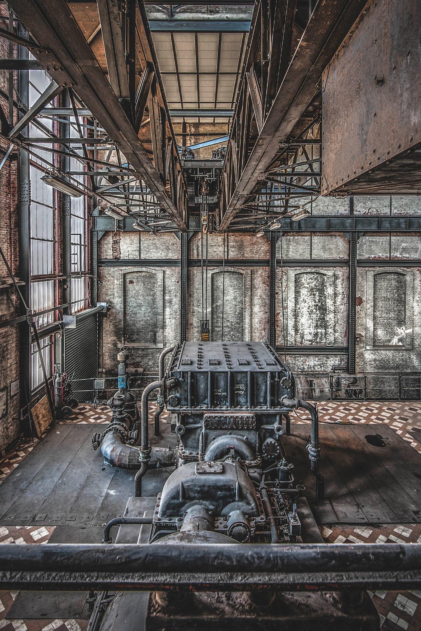 Abandoned Factory by Vanessa Hugen
