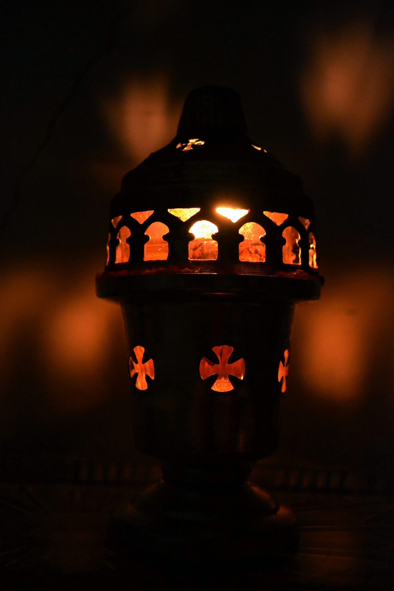 candle-oil lamp by angeliki