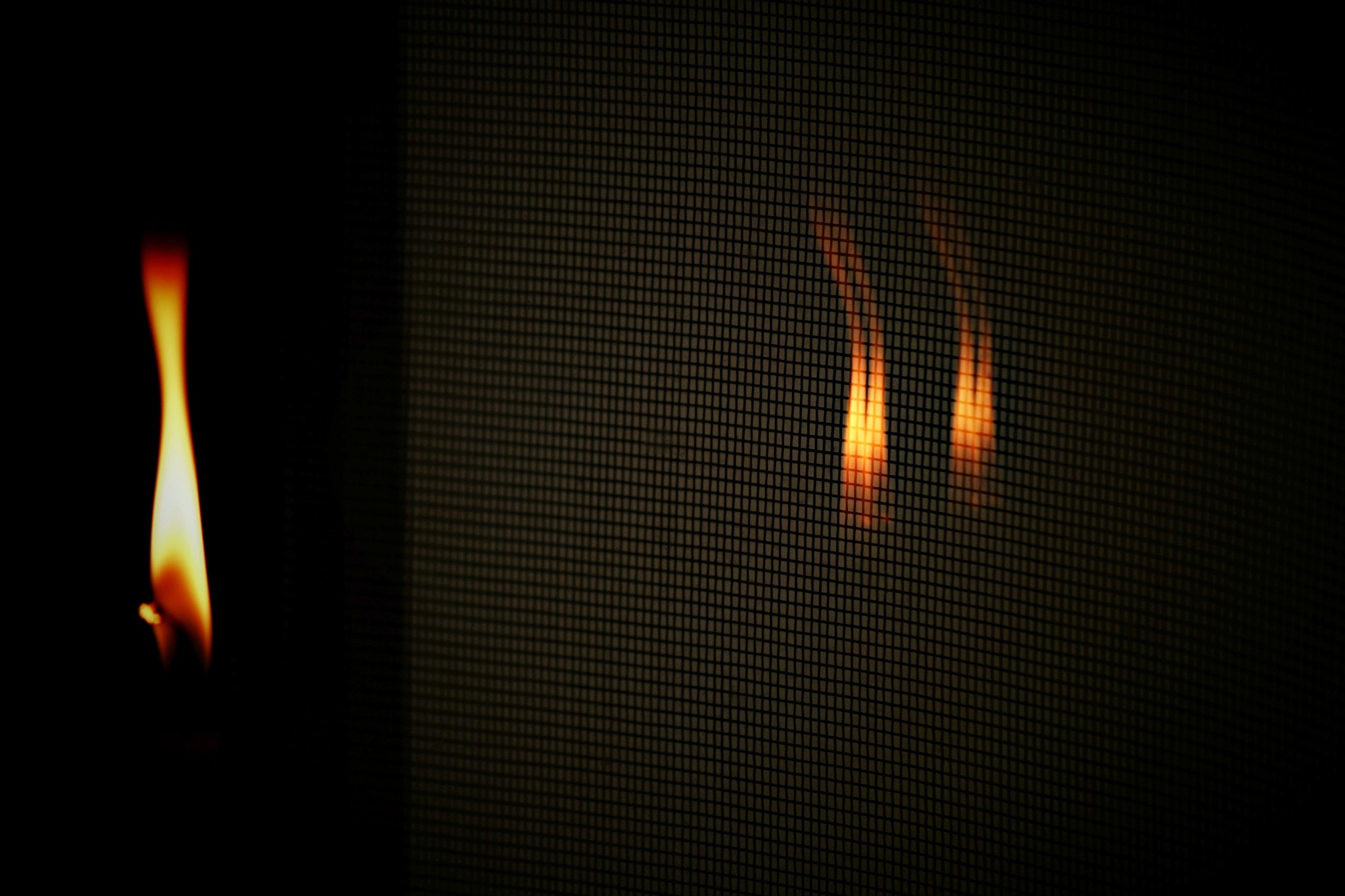 ...prisoners in our own flame :-) by angeliki