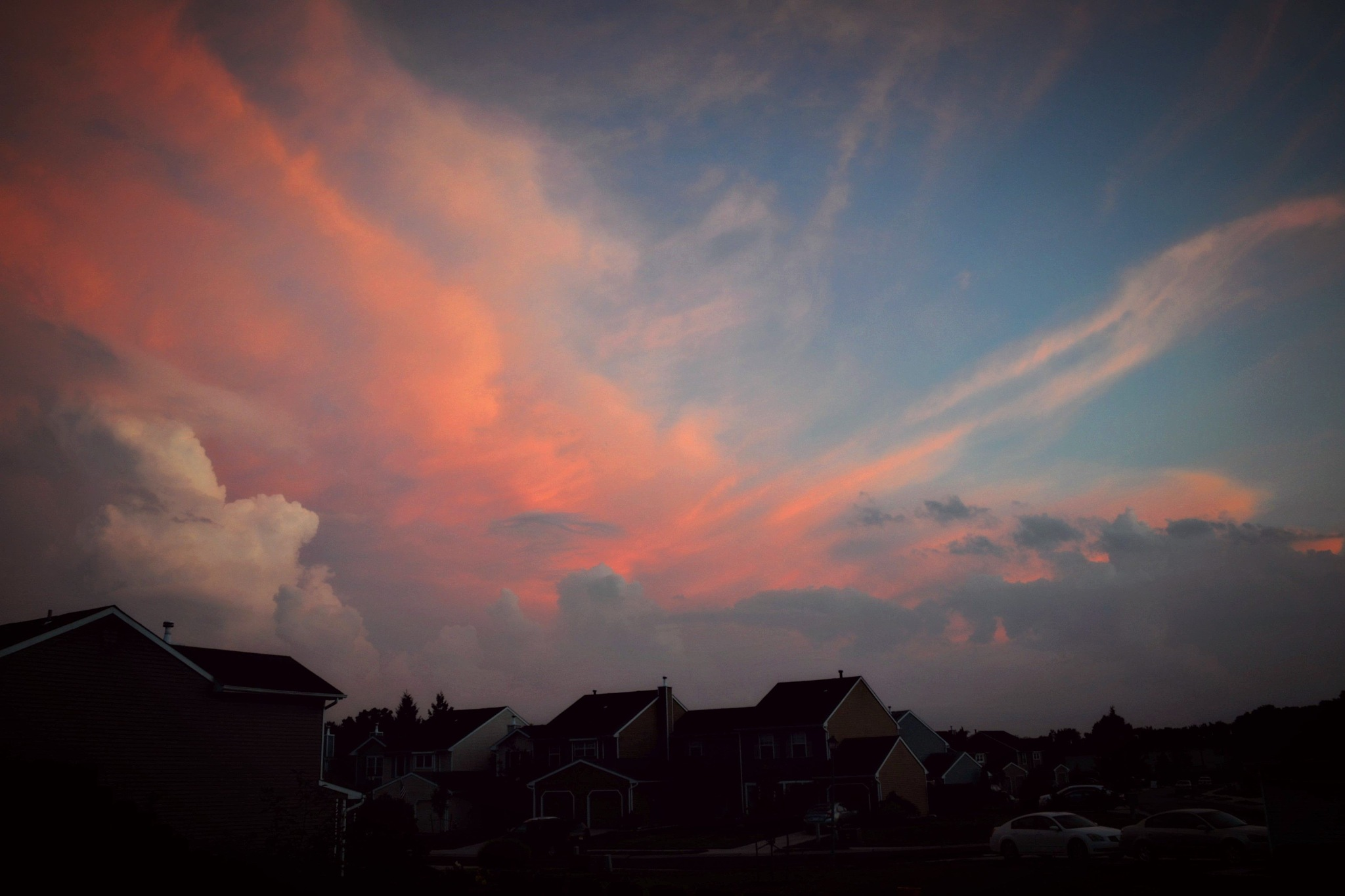 ..under the pink sky.. by angeliki