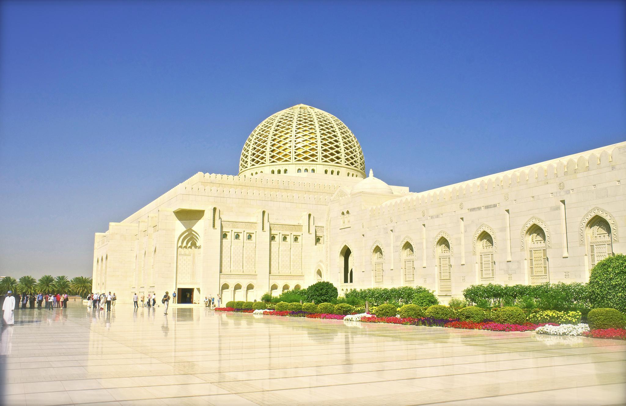 Photo in Architecture #mosque #architecture #muscat #sultan