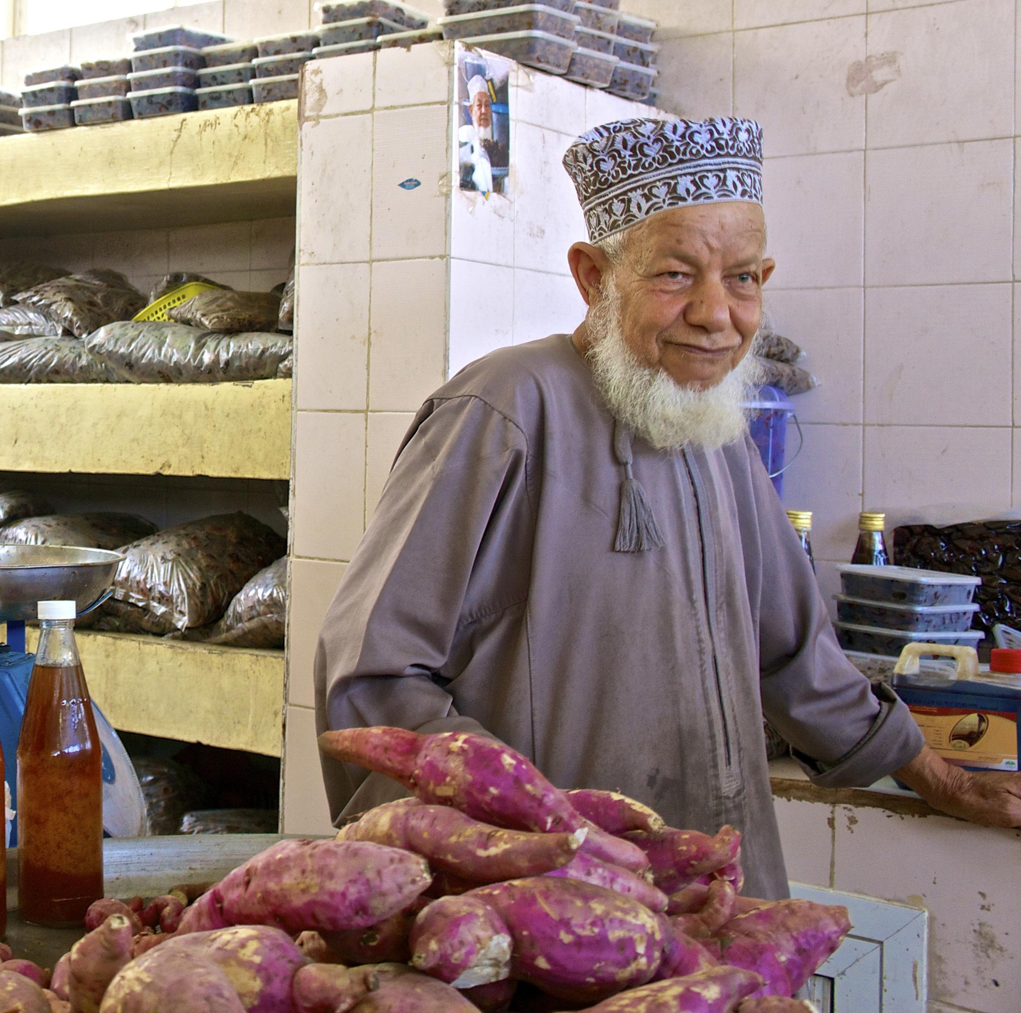 Photo in People #market #oman #vendor