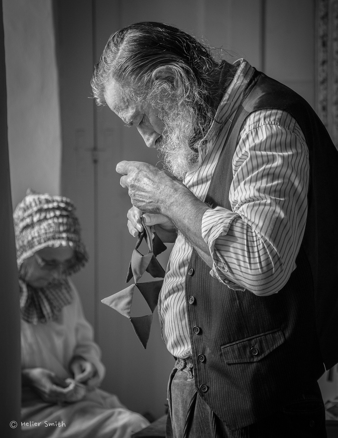 Man Sewing by Smith.je Photography