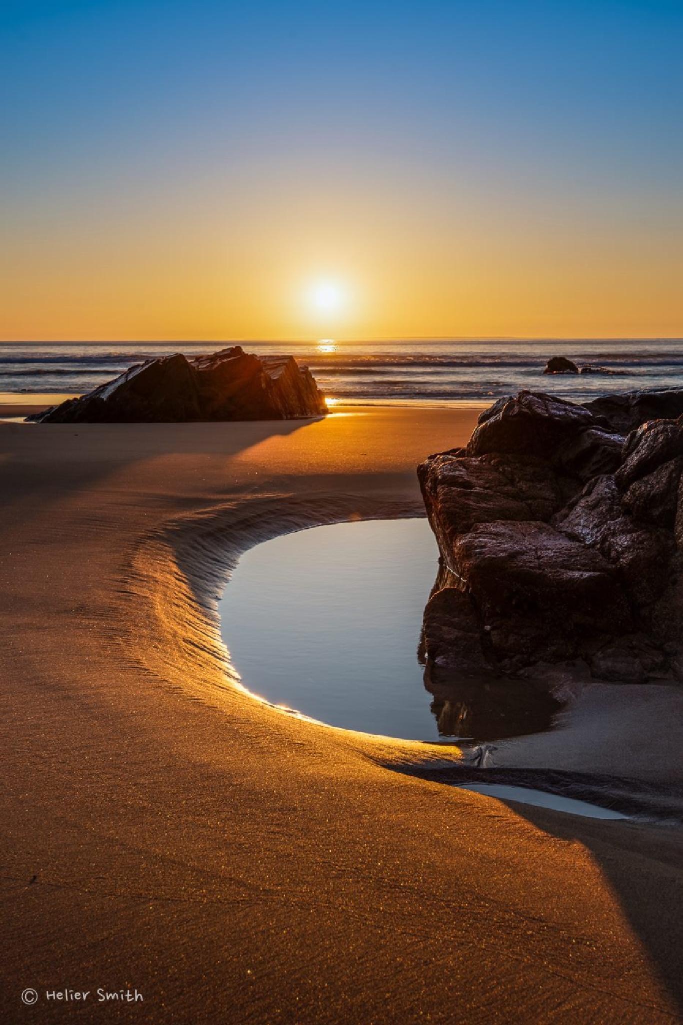 Plemont Sunset by Smith.je Photography