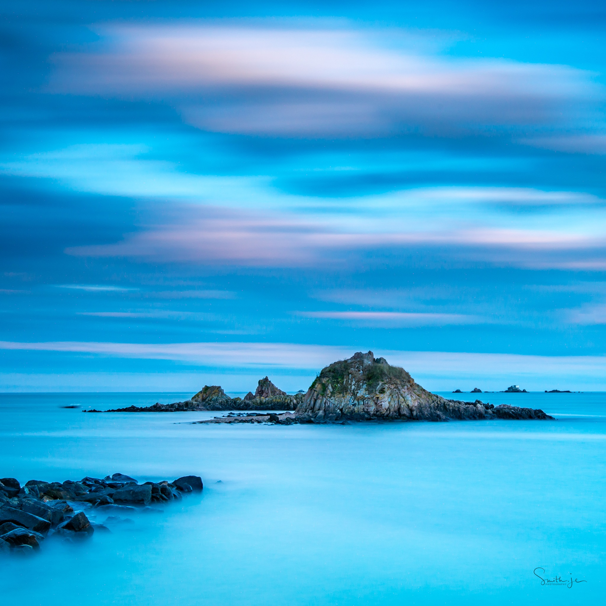 Evening blues at Le Hocq by Smith.je Photography