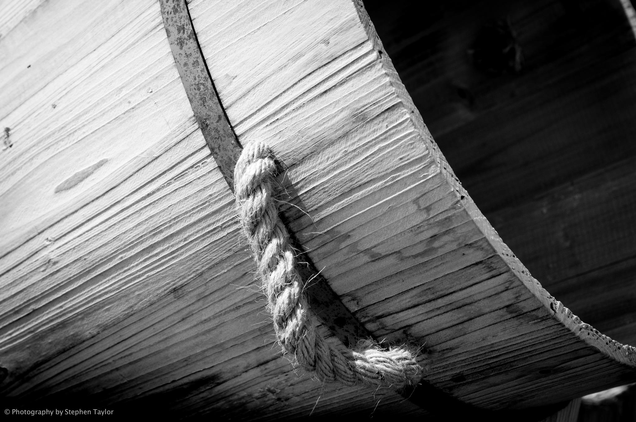 Wooden bucket by Stephen Taylor
