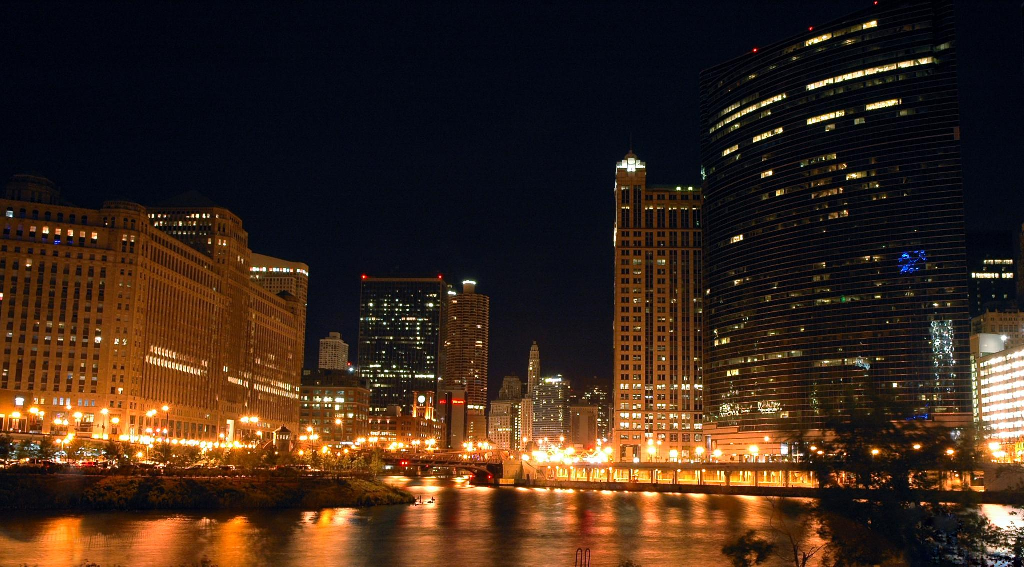 Wolf Point at Night by Ray Zirkle Photography