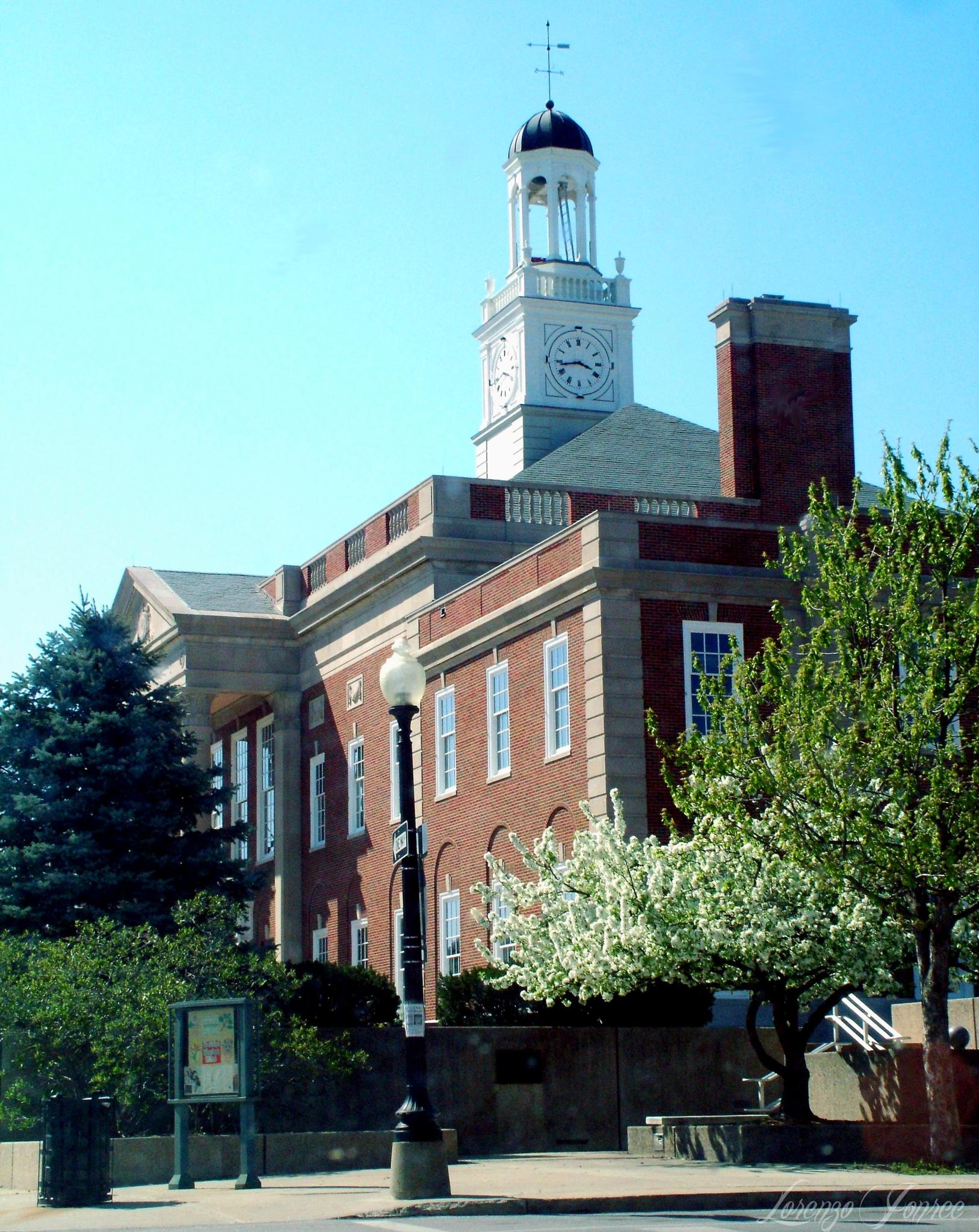Truman Courthouse in Spring by Lorenzo (Larry) Jonree