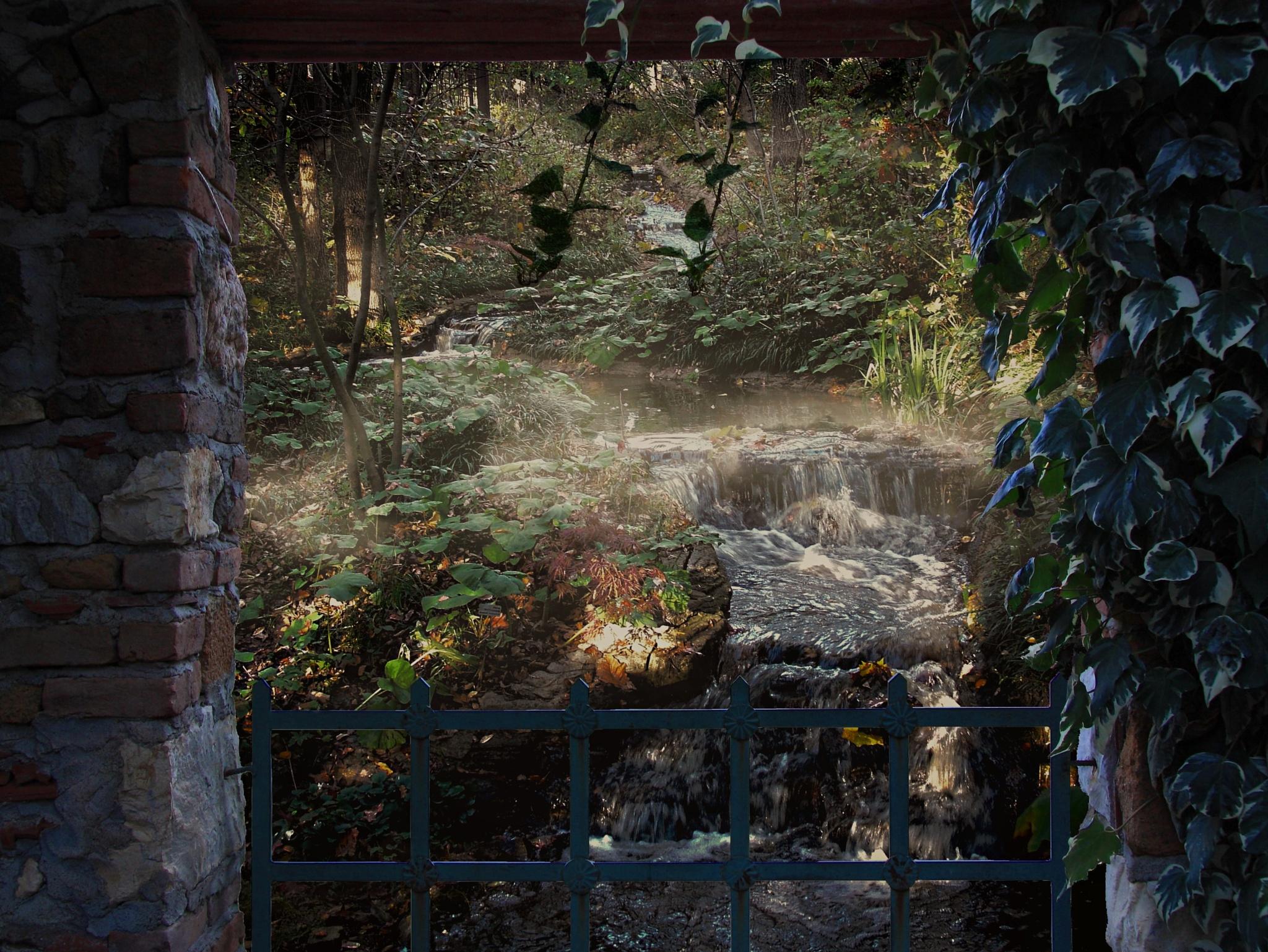 Woodland Mist  by Lorenzo (Larry) Jonree