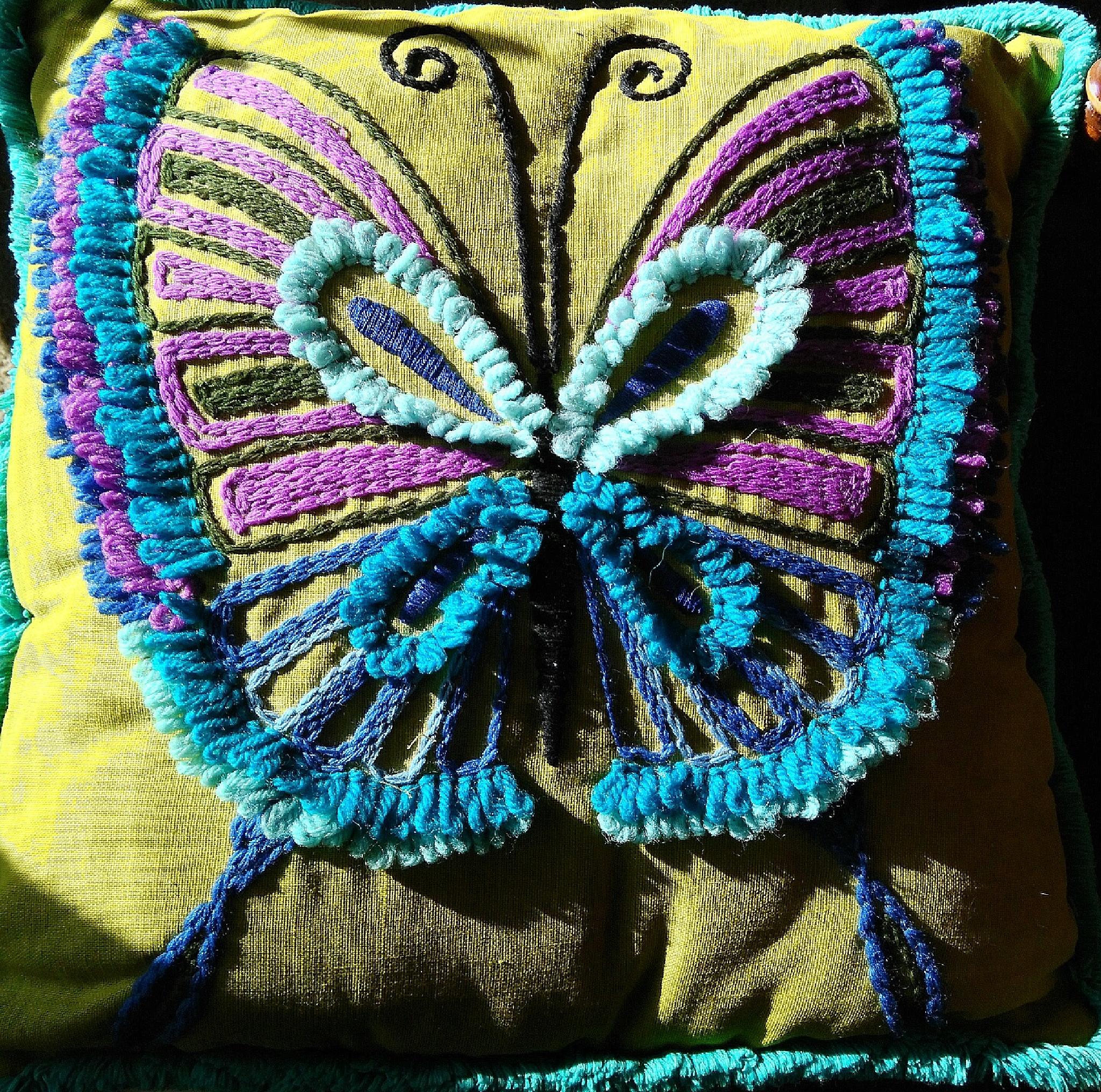 The Blue Butterfly by Lorenzo (Larry) Jonree