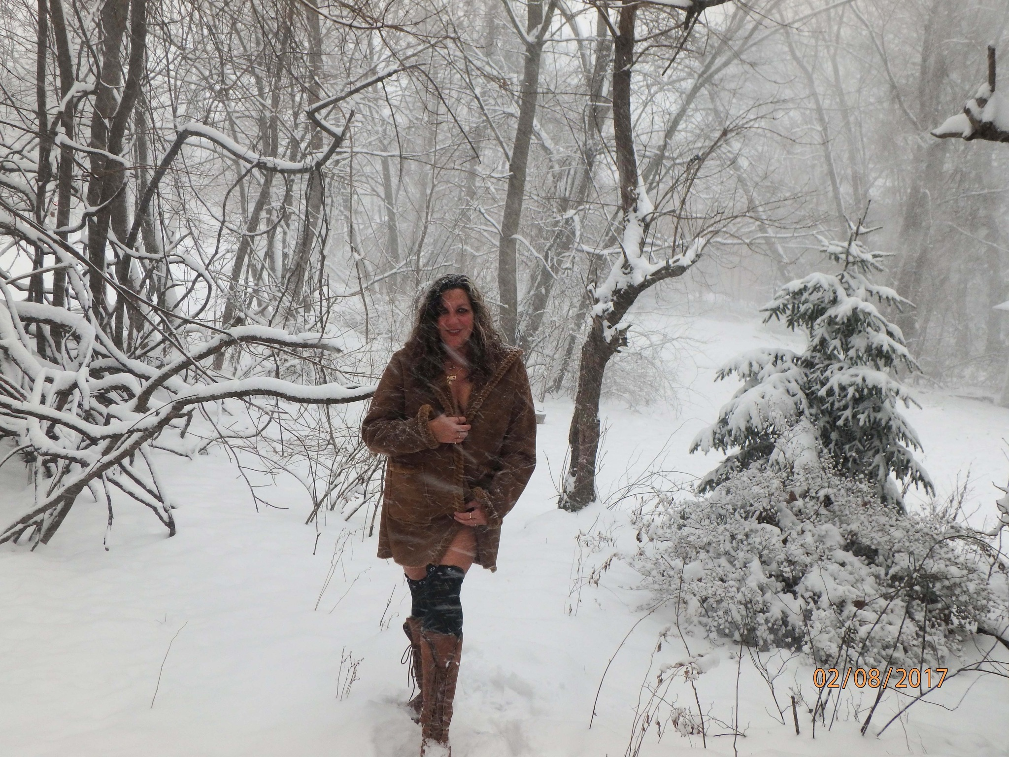 My Snow Selfie by patriciaann3139