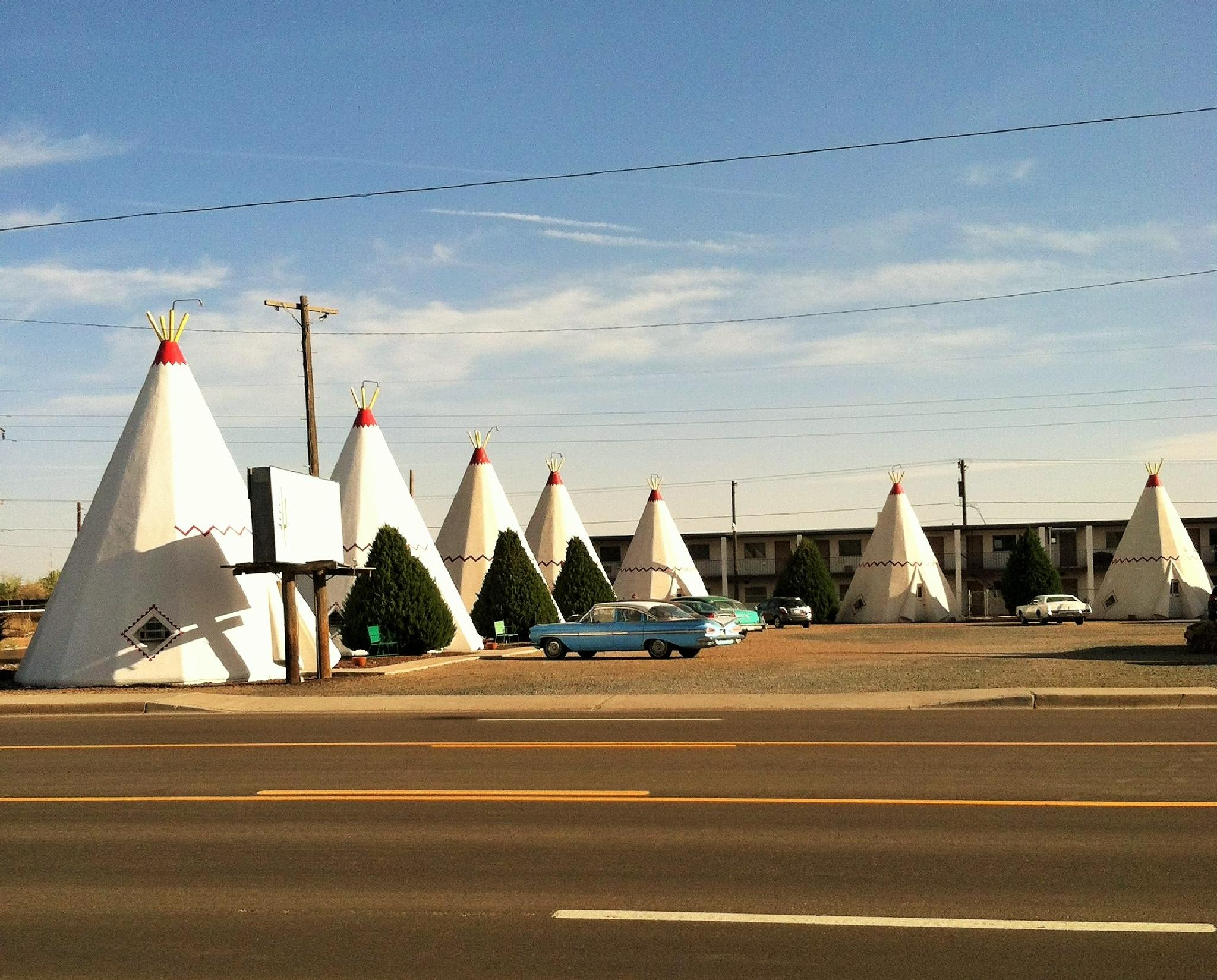 The Wigwam Motel Route 66 Arizona by Floralzoom