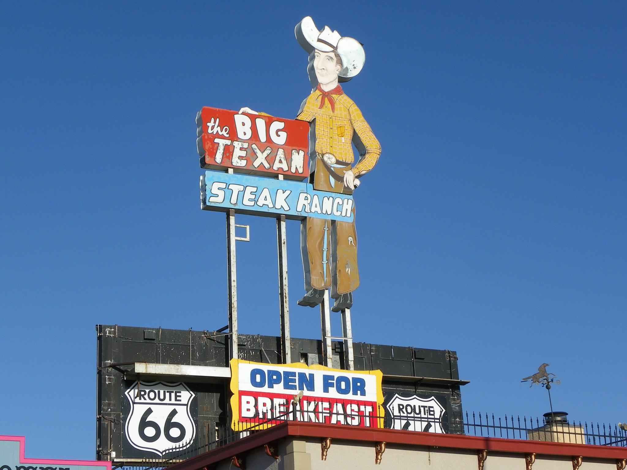 Route 66 Texas USA by Floralzoom