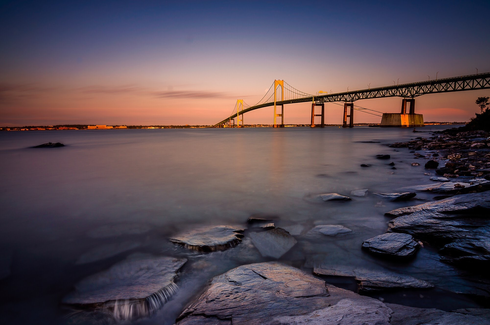 Newport Bridge  by DrakeUncharted