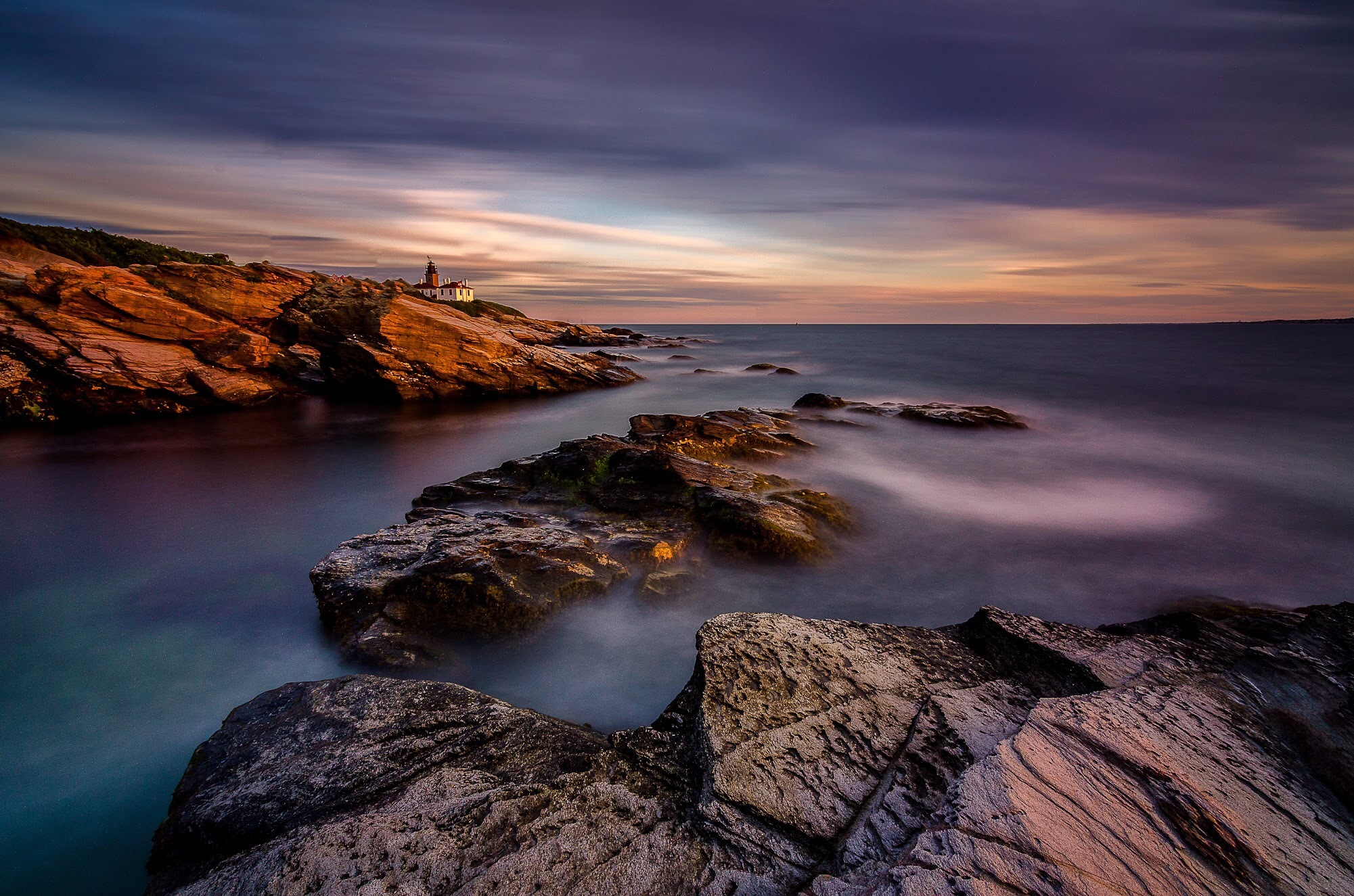 Beavertail Lighthouse  by DrakeUncharted