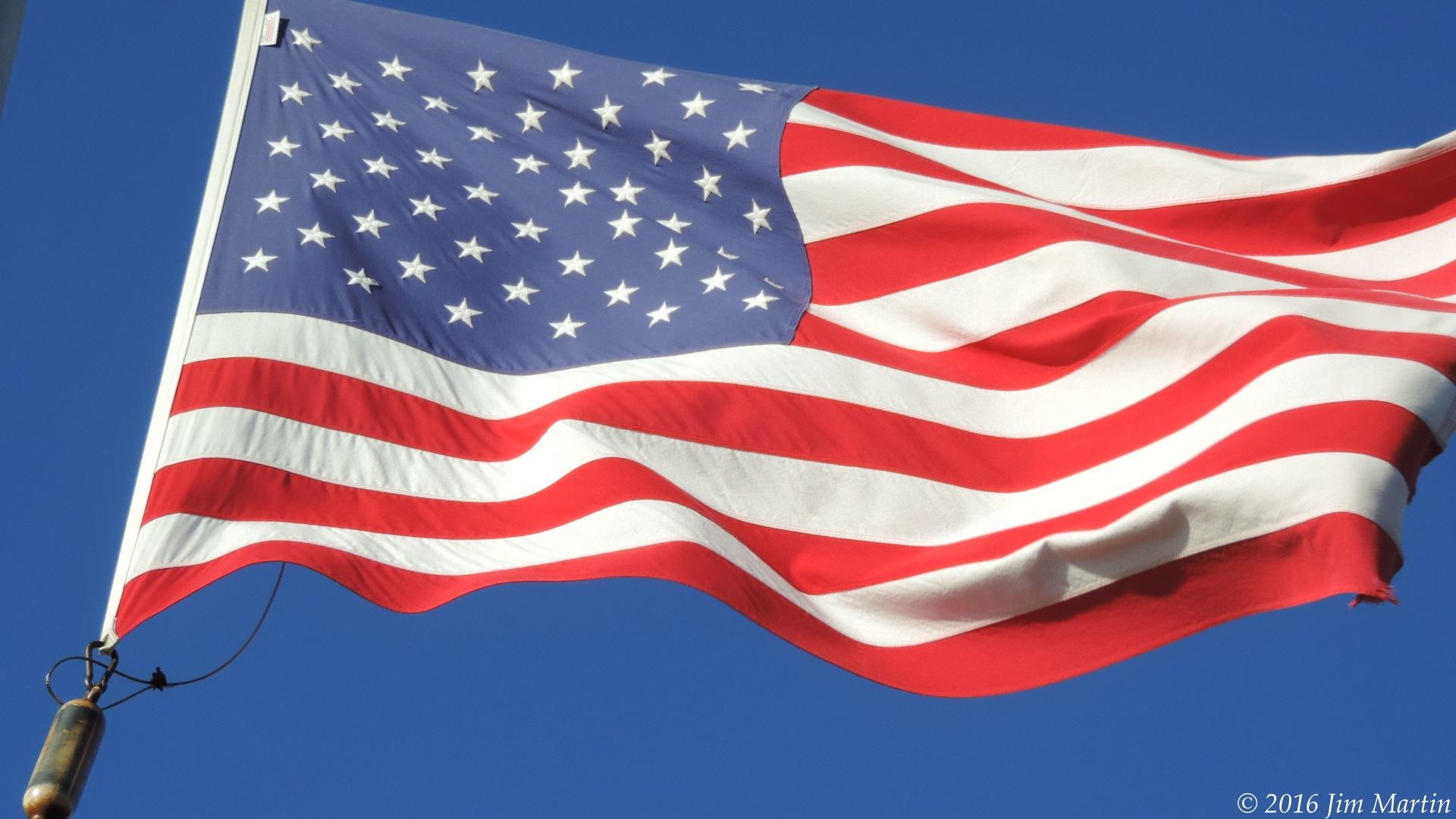 USA Flag by Jim Martin
