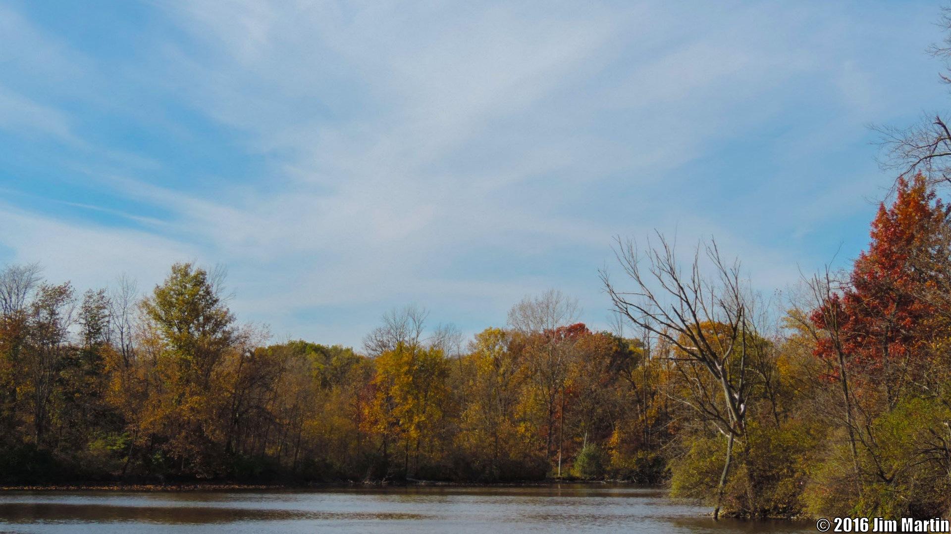 Gorgeous Autumn Setting by Jim Martin