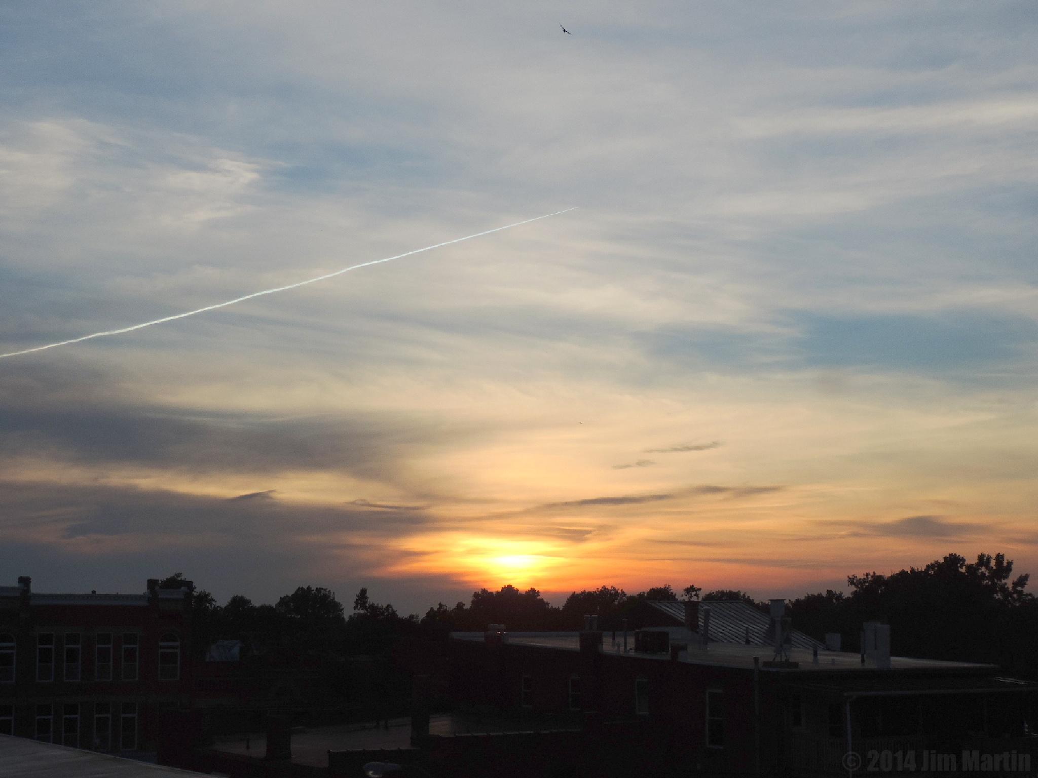 Sunset by Jim Martin