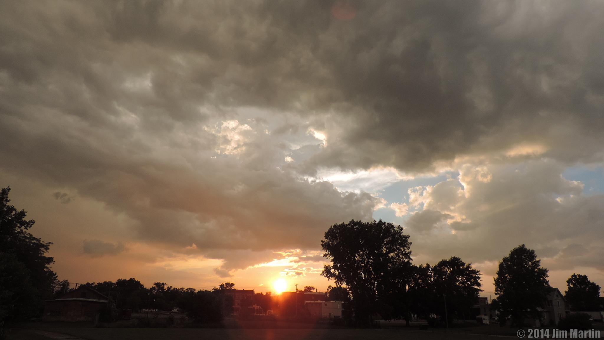Sunset on the Boardwalk by Jim Martin