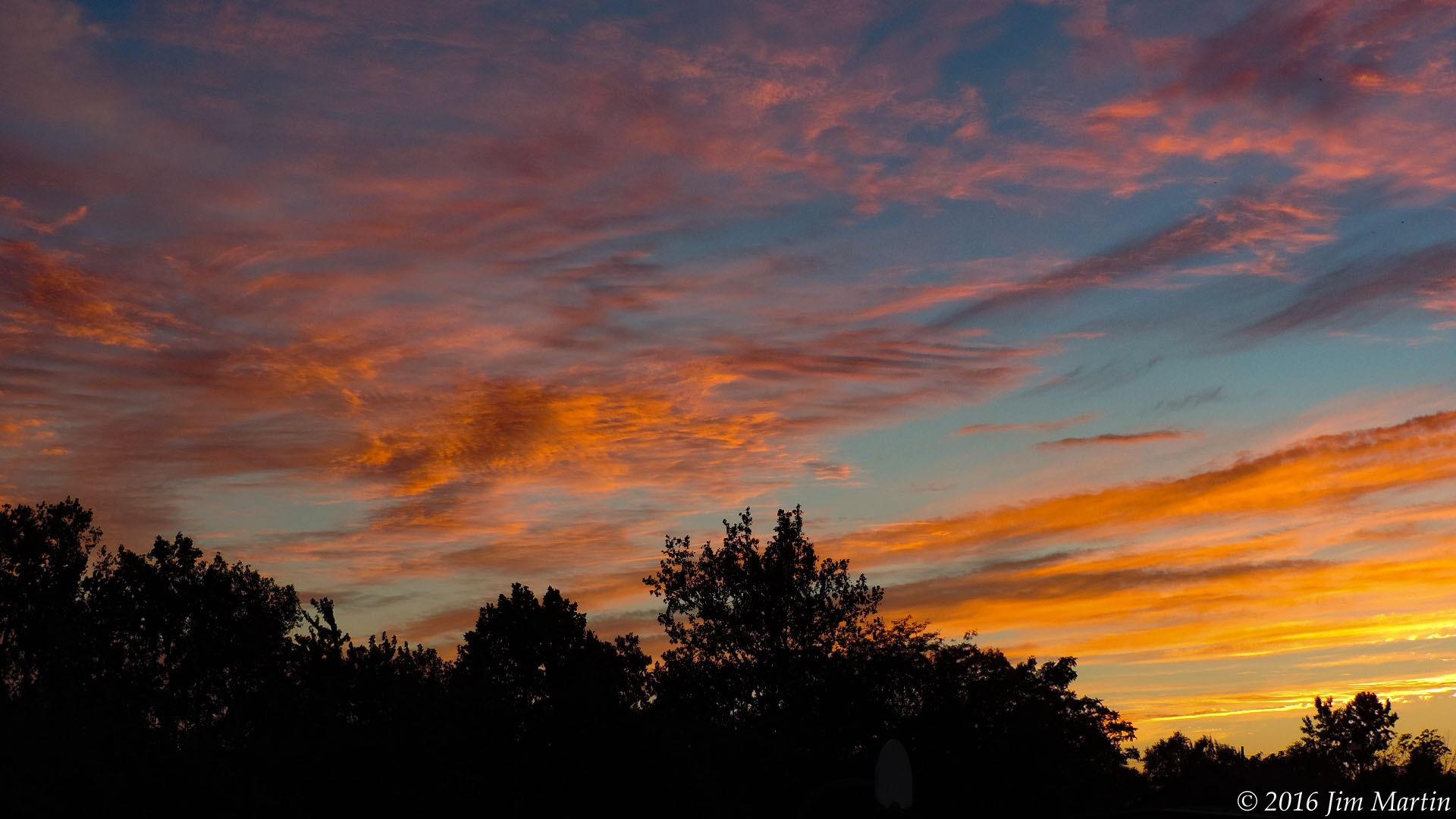 Flashback Sunset by Jim Martin