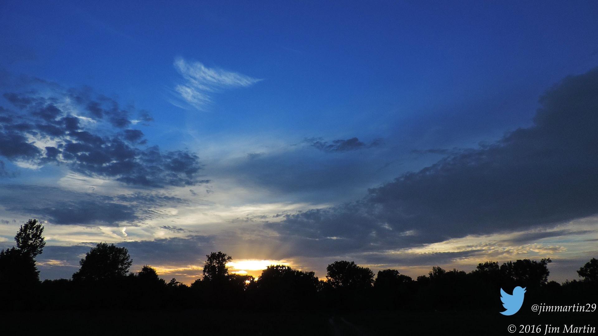 Tonight's Sunset by Jim Martin
