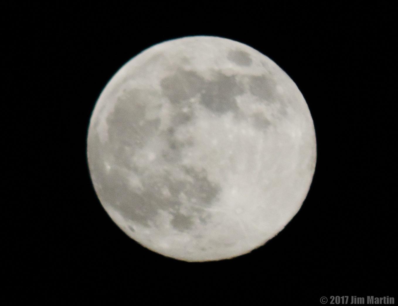 Tonight's Moon by Jim Martin