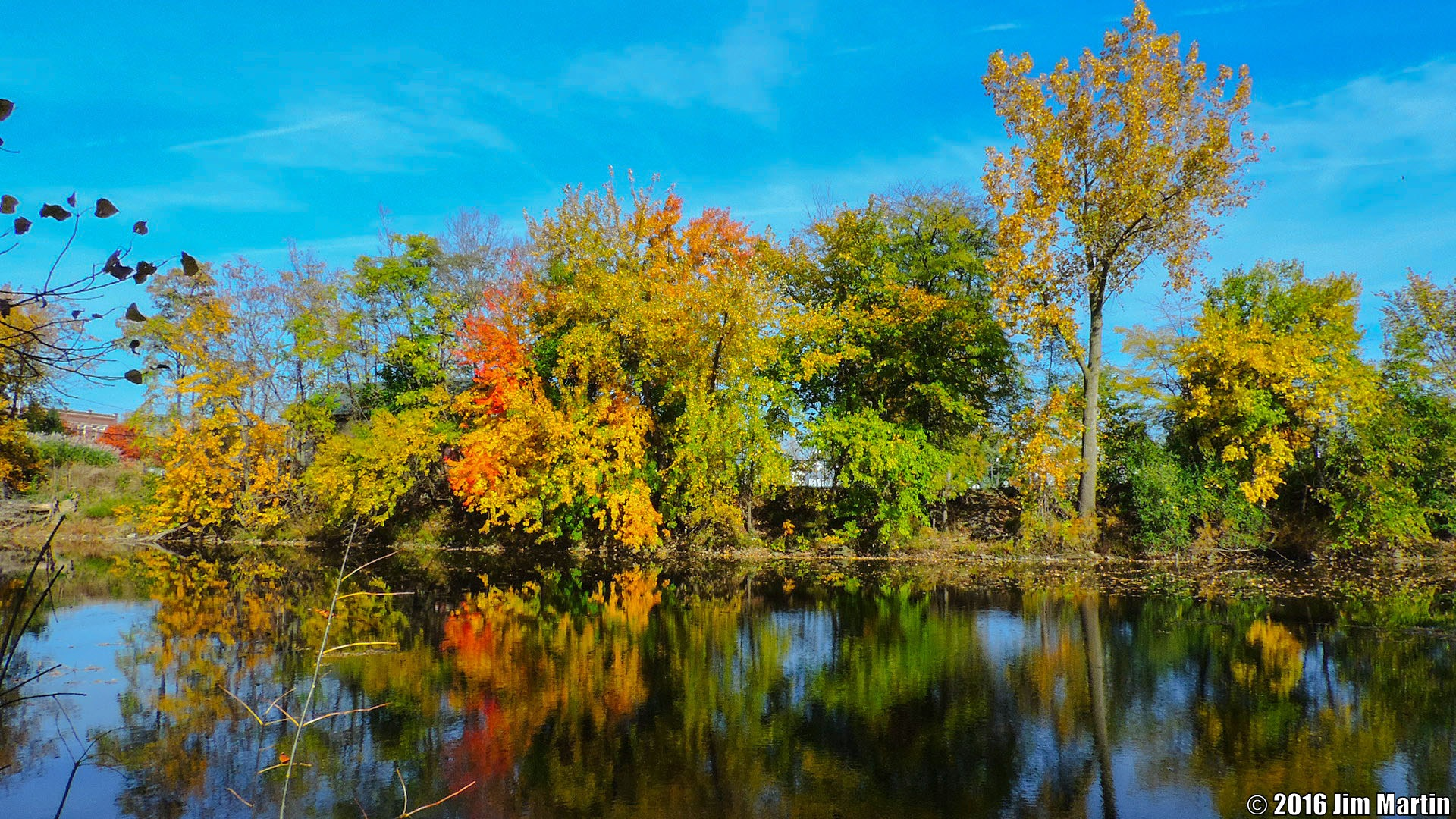 Autumn Morning Colors by Jim Martin