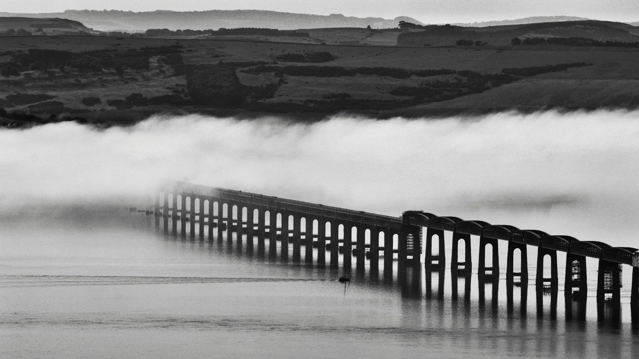 Tay Rail Bridge, Scotland  by The PhotoGrabber