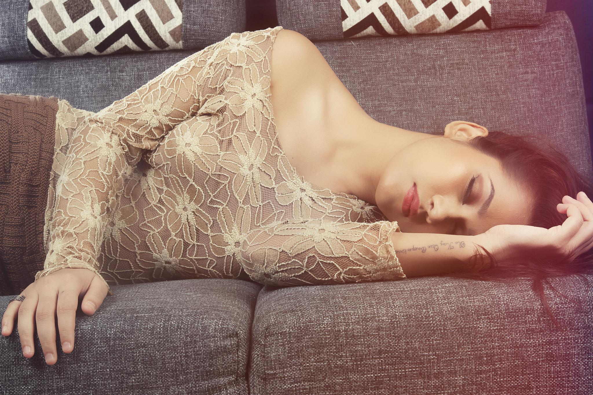 Photo in Fashion #fashion #model #sleep